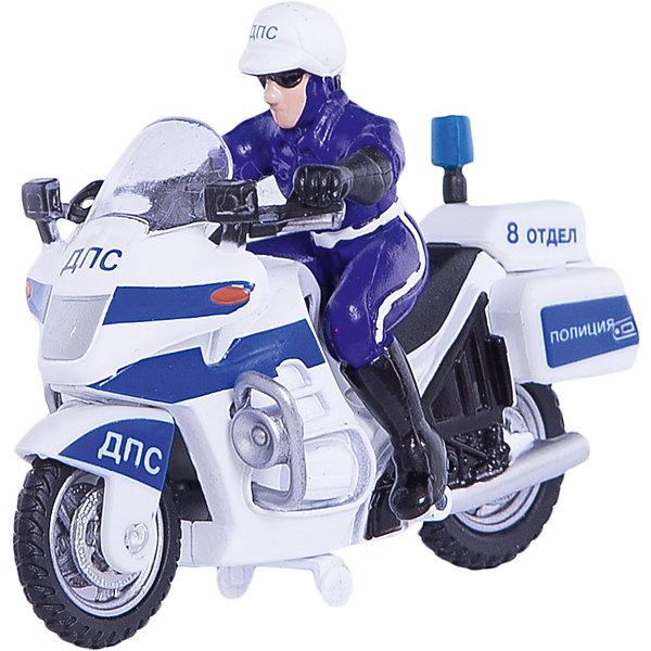 ТЕХНОПАРК Металлический мотоциклМашинки<br>Характеристики:<br><br>• тип игрушки: мотоцикл;<br>• возраст: от 3 лет;<br>• размер: 5х17х15 см;<br> • цвет: белый, синий;<br>• материал: металл, пластик;<br>• бренд: Технопарк;<br>• страна производителя: Китай.<br><br>Мотоцикл Технопарк «Металлический мотоцикл»  - это игрушка с  фигуркой в форме полицейского, шлеме и очках. Все элементы коллекционной модели детально проработаны, что добавляет её реалистичности. Мотоцикл выполнен в сине-белом цвете с надписями «ДПС», «8 отдел», «Милиция» что делает её ещё более правдоподобной. Мотоцикл снабжен инерционным механизмом, что позволяет придавать ему ускорение несколькими прокатами.<br>У мотоцикла функциональные колёса и благодаря встроенному инерционному механизму он реалистично ускоряется, стоит его лишь слегка оттянуть назад и отпустить. Тематические игры с интересными сюжетами разбудят воображение ребёнка, а манипуляции с игрушкой потренируют мелкую моторику пальцев рук.<br>Мотоцикл Технопарк «Металлический мотоцикл»  можно купить в нашем интернет-магазине.<br>Ширина мм: 50; Глубина мм: 170; Высота мм: 150; Вес г: 170; Возраст от месяцев: 36; Возраст до месяцев: 120; Пол: Мужской; Возраст: Детский; SKU: 2149092;