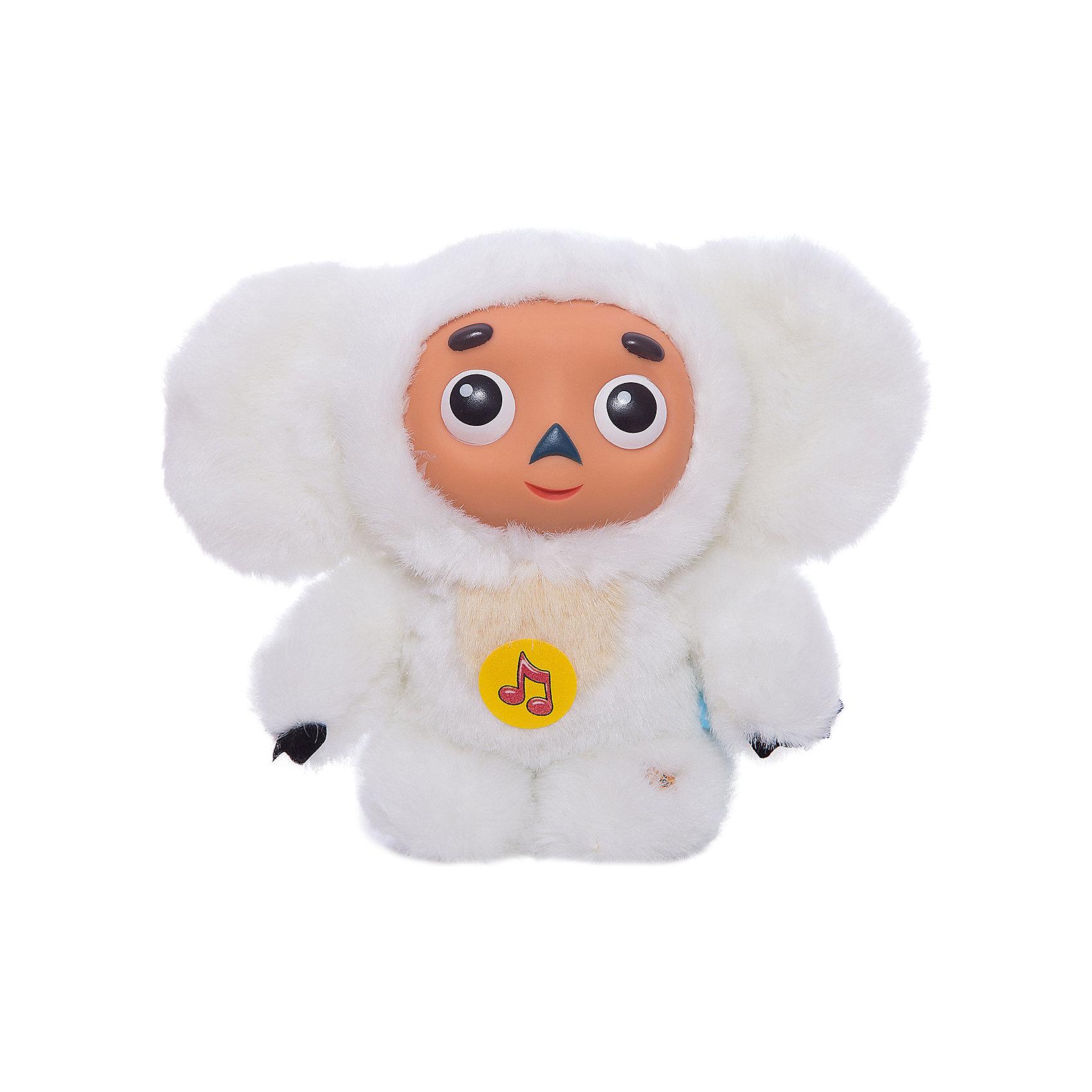 Мягкая игрушка Чебурашка, 14 см, МУЛЬТИ-ПУЛЬТИЧебурашка - известный герой книги Эдуарда Успенского, персонаж, которого полюбило ни одно поколение детей. У него гигантские уши, большие глаза и добрый характер. <br><br>Эта мягкая игрушка выполнена из белого меха, у неё пластиковая мордочка. <br>Чебурашка порадует ребенка разными фразами из любимого мультфильма! (9 фраз и 2 песенки) <br>Размер в высоту: 14 см.<br><br>Мягкую игрушку Чебурашка, 14 см, МУЛЬТИ-ПУЛЬТИ можно купить в нашем магазине.<br><br>Ширина мм: 60<br>Глубина мм: 230<br>Высота мм: 250<br>Вес г: 210<br>Возраст от месяцев: 12<br>Возраст до месяцев: 72<br>Пол: Унисекс<br>Возраст: Детский<br>SKU: 2149133