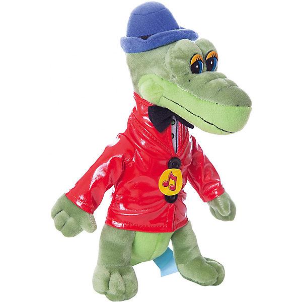 Мягкая игрушка Крокодил Гена озвученная.Мягкие игрушки из мультфильмов<br>Мягкая игрушка Мульти-Пульти Крокодил Гена, озвученный (русский чип). <br>Поет песню из мультфильма и говорит несколько фраз.<br><br>Дополнительная информация:<br><br>Размер: 21см.<br><br>Материал: плюш.<br><br>Производитель: Мульти-Пульти (Россия)<br><br>Герой знакомого с детства мультфильма станет лучшим другом ребенка, воспитывая в нем доброту, заботу и верность.<br>Ширина мм: 190; Глубина мм: 110; Высота мм: 350; Вес г: 160; Возраст от месяцев: 36; Возраст до месяцев: 84; Пол: Унисекс; Возраст: Детский; SKU: 2149168;