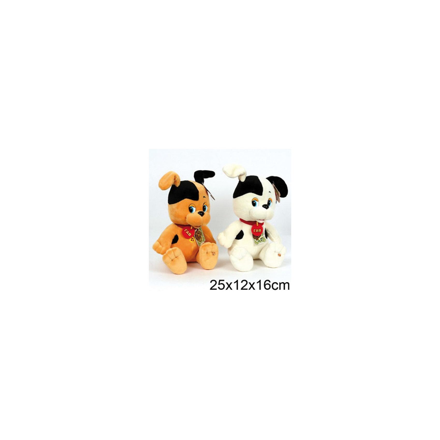 Мягкая игрушка Щенок, 25 см, Котёнок Гав, МУЛЬТИ-ПУЛЬТИКошки и собаки<br>Щенок Шарик - лучший друг Котёнка по имени Гав из одноимённого мультфильма. Мягкая озвученная игрушка Щенок от Мульти-Пульти станет приятным сюрпризом для Вашего ребенка. Если нажать щенку на животик, он произносит несколько фраз из мультфильма.<br>. <br>Дополнительная информация:<br><br>- Материал: плюш, текстиль, наполнитель: синтепон.<br>- Требуются батарейки: 3 * LR44 (входят в комплект).<br>- Размер: 25 х 12 х 16 см.<br>- Вес: 0,260 кг.<br><br>Мягкую игрушку Щенок Шарик (Котенок по имени Гав) от Мульти-Пульти можно купить в нашем магазине.<br><br>ВНИМАНИЕ! Данный артикул имеется в наличии в разных цветовых исполнениях (белый и бежевый). К сожалению, заранее выбрать определенный цвет не возможно.<br><br>Ширина мм: 200<br>Глубина мм: 220<br>Высота мм: 270<br>Вес г: 420<br>Возраст от месяцев: 12<br>Возраст до месяцев: 72<br>Пол: Унисекс<br>Возраст: Детский<br>SKU: 2149178
