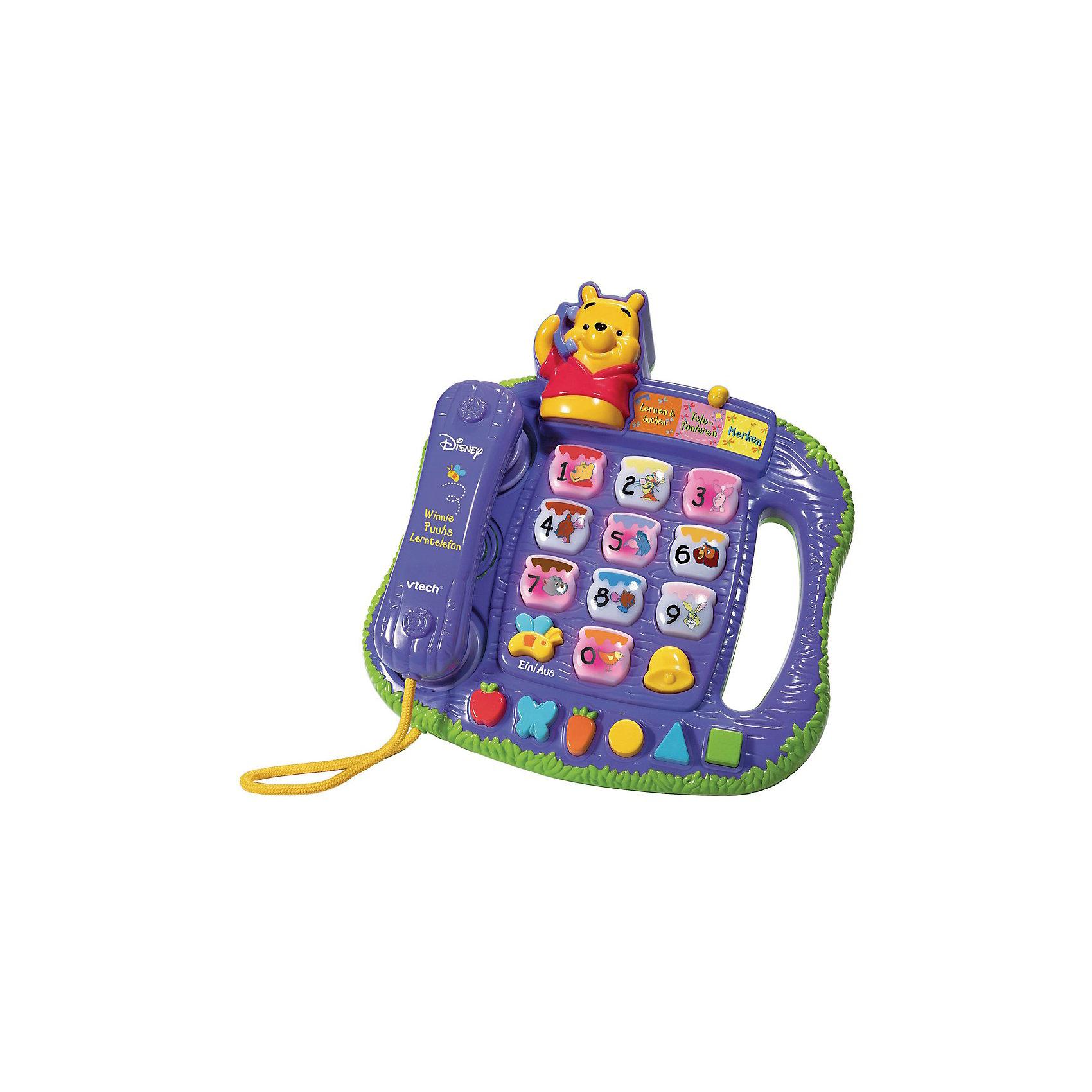 Vtech Vtech Обучающий телефон Винни электронные игрушки vtech обучающий телефон маленькой принцессы 80 069226