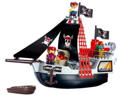 Coiffier Ecoiffier Конструктор Пиратский корабль