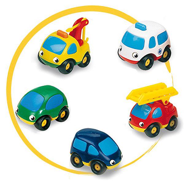 Набор из трех машинок Vroom Planet , SmobyМашинки<br>Забавные машинки серии Vroom Planet органично впишутся в автопарк вашего малыша. Набор из 3-х машинок Vroom Planet представлен машинами скорой помощи, пожарной , полицейской или синим минивэн, зеленым легковым автомобилем и желтым подъемным краном. Они привлекают внимание своей яркой окраской, приятной округлой формой, приветливыми и веселыми глазками-фарами на лобовом стекле. В ассортименте 2 комплекта, отличающихся разновидностями машинок.<br> <br>Дополнительная информация:<br><br> - материал: пластик<br> - размер упаковки: <br> - длина 28,5 см.<br> - ширина 9,5 см.<br> - высота 9,5 см.<br> - вес упаковки: 0,28 кг.<br><br>ВНИМАНИЕ! Данный артикул имеется в наличии в разных вариантах исполнения. Заранее выбрать определенный вариант нельзя. При заказе нескольких наборов возможно получение одинаковых.<br><br>Набор из 3-х машинок Smoby можно купить в нашем интернет-магазине.<br><br>Ширина мм: 290<br>Глубина мм: 100<br>Высота мм: 100<br>Вес г: 262<br>Возраст от месяцев: 18<br>Возраст до месяцев: 48<br>Пол: Мужской<br>Возраст: Детский<br>SKU: 2149547