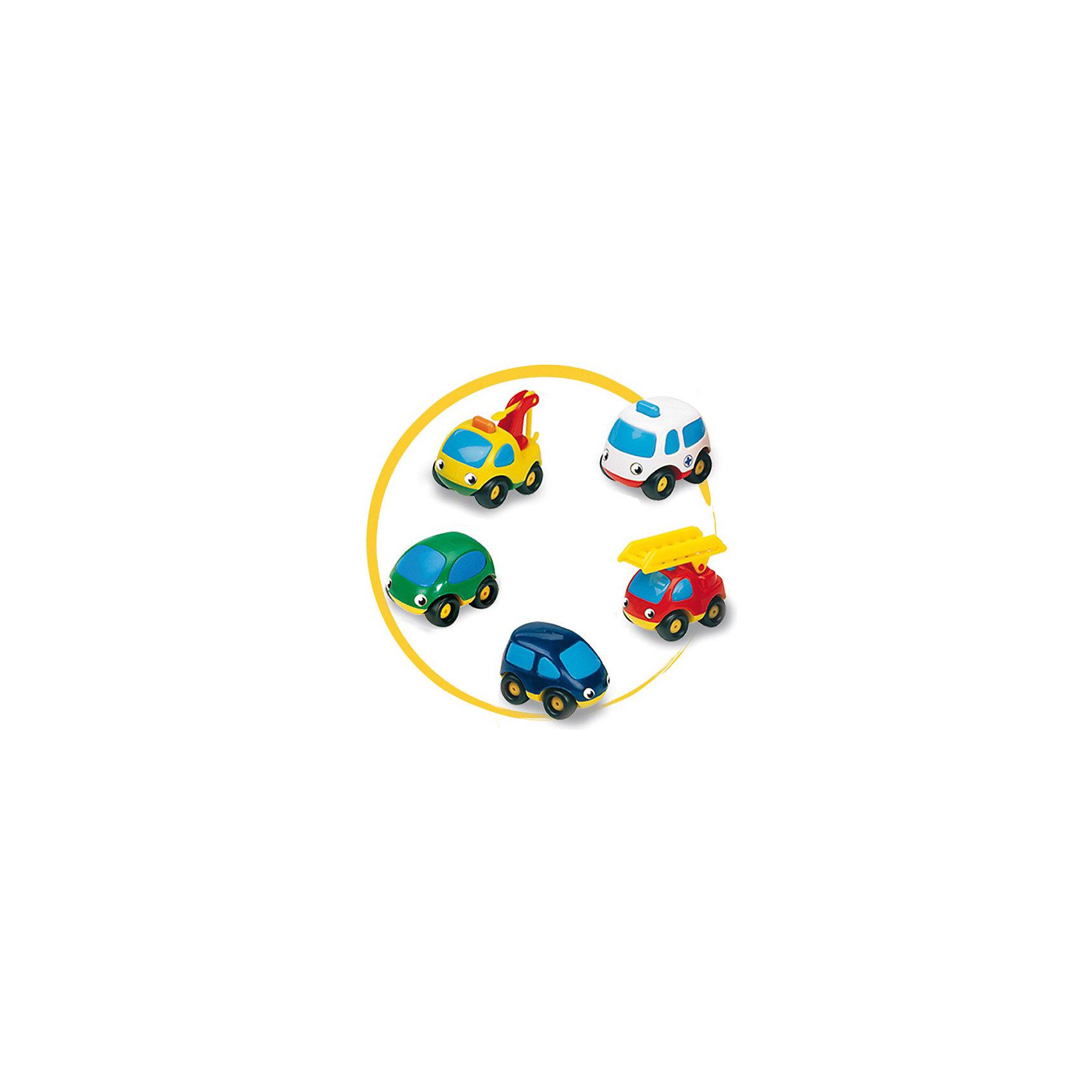 Набор из трех машинок Vroom Planet , SmobyЗабавные машинки серии Vroom Planet органично впишутся в автопарк вашего малыша. Набор из 3-х машинок Vroom Planet представлен машинами скорой помощи, пожарной , полицейской или синим минивэн, зеленым легковым автомобилем и желтым подъемным краном. Они привлекают внимание своей яркой окраской, приятной округлой формой, приветливыми и веселыми глазками-фарами на лобовом стекле. В ассортименте 2 комплекта, отличающихся разновидностями машинок.<br> <br>Дополнительная информация:<br><br> - материал: пластик<br> - размер упаковки: <br> - длина 28,5 см.<br> - ширина 9,5 см.<br> - высота 9,5 см.<br> - вес упаковки: 0,28 кг.<br><br>ВНИМАНИЕ! Данный артикул имеется в наличии в разных вариантах исполнения. Заранее выбрать определенный вариант нельзя. При заказе нескольких наборов возможно получение одинаковых.<br><br>Набор из 3-х машинок Smoby можно купить в нашем интернет-магазине.<br><br>Ширина мм: 290<br>Глубина мм: 100<br>Высота мм: 100<br>Вес г: 262<br>Возраст от месяцев: 18<br>Возраст до месяцев: 48<br>Пол: Мужской<br>Возраст: Детский<br>SKU: 2149547