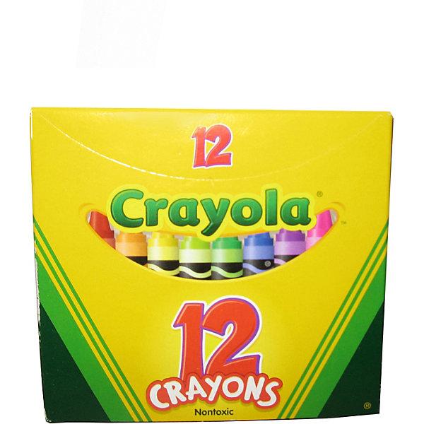 Набор из 12 разноцветных восковых мелков, CrayolaМасляные и восковые мелки<br>Набор из 12 разноцветных восковых мелков от Crayola (Крайола) обязательно порадует каждого ребёнка, ведь все дети так любят рисовать! Набор идеален для творческого развития вашего ребенка.<br><br>Мелки отлично передают цвета и не ломаются. Восковыми мелками можно рисовать на бумаге, картоне и дереве. Шерховатая поверхность больше не будет помехой для рисунков ребёнка, а если он захочет изменить свой рисунок, то сможет легко стереть ненужные линии ластиком!<br><br>Мелки фирмы Crayola (Крайола) изготовлены из натурального пчелиного воска с добавлением растительных красителей - они абсолютно безвредны для ваших детей. Их можно смыть тёплой водой с рук, любых поверхностей и одежды.<br><br>Набор из 12 разноцветных восковых мелков от Crayola (Крайола) можно купить в нашем интернет-магазине.<br><br>Дополнительная информация:<br>В набор входит: 12 цветных восковых мелков<br>Длина мелка: 9,5 см<br>Размер упаковки: 10,5 x 10 x 1 см<br>Ширина мм: 170; Глубина мм: 265; Высота мм: 35; Вес г: 800; Возраст от месяцев: 36; Возраст до месяцев: 1188; Пол: Унисекс; Возраст: Детский; SKU: 2149649;