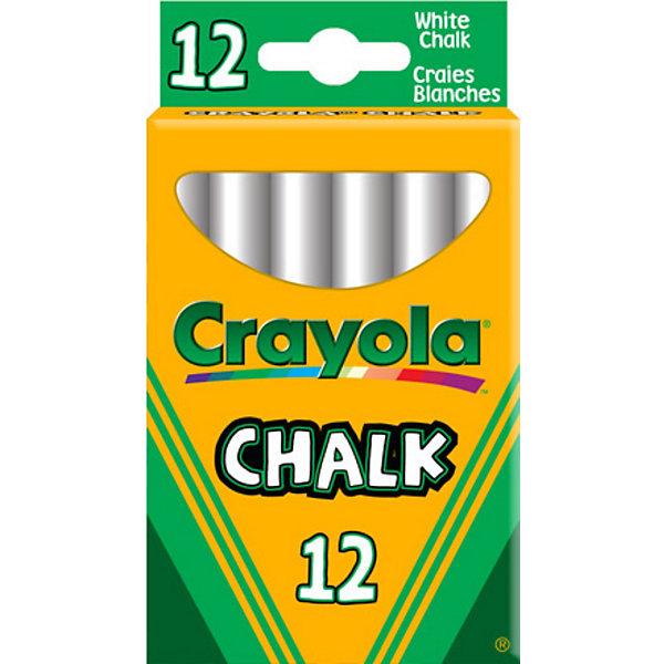 Неосыпающиеся белые мелки, 12 шт., CrayolaМелки для асфальта<br>Какое детство может обойтись без белых мелков? Ведь это необходимый элемент творчества у каждого ребёнка.<br><br>Мелки от Crayola (Крайола) отличаются особой прочностью благодаря изготовлению по специальной технологии. С неосыпающимися белыми мелками от Crayola (Крайола) Ваш малыш сможет приятно проводить время в кругу друзей, рисуя забавные картинки, как на асфальте, так и на доске для рисования и при этом будет оставаться чистым.<br><br>Изготовлены из экологически чистых материалов, не вызывают аллергической реакции.<br><br>Белые мелки от Crayola (Крайола) можно купить в нашем интернет-магазине.<br><br>Ширина мм: 60<br>Глубина мм: 100<br>Высота мм: 20<br>Вес г: 120<br>Возраст от месяцев: 36<br>Возраст до месяцев: 108<br>Пол: Унисекс<br>Возраст: Детский<br>SKU: 2149650