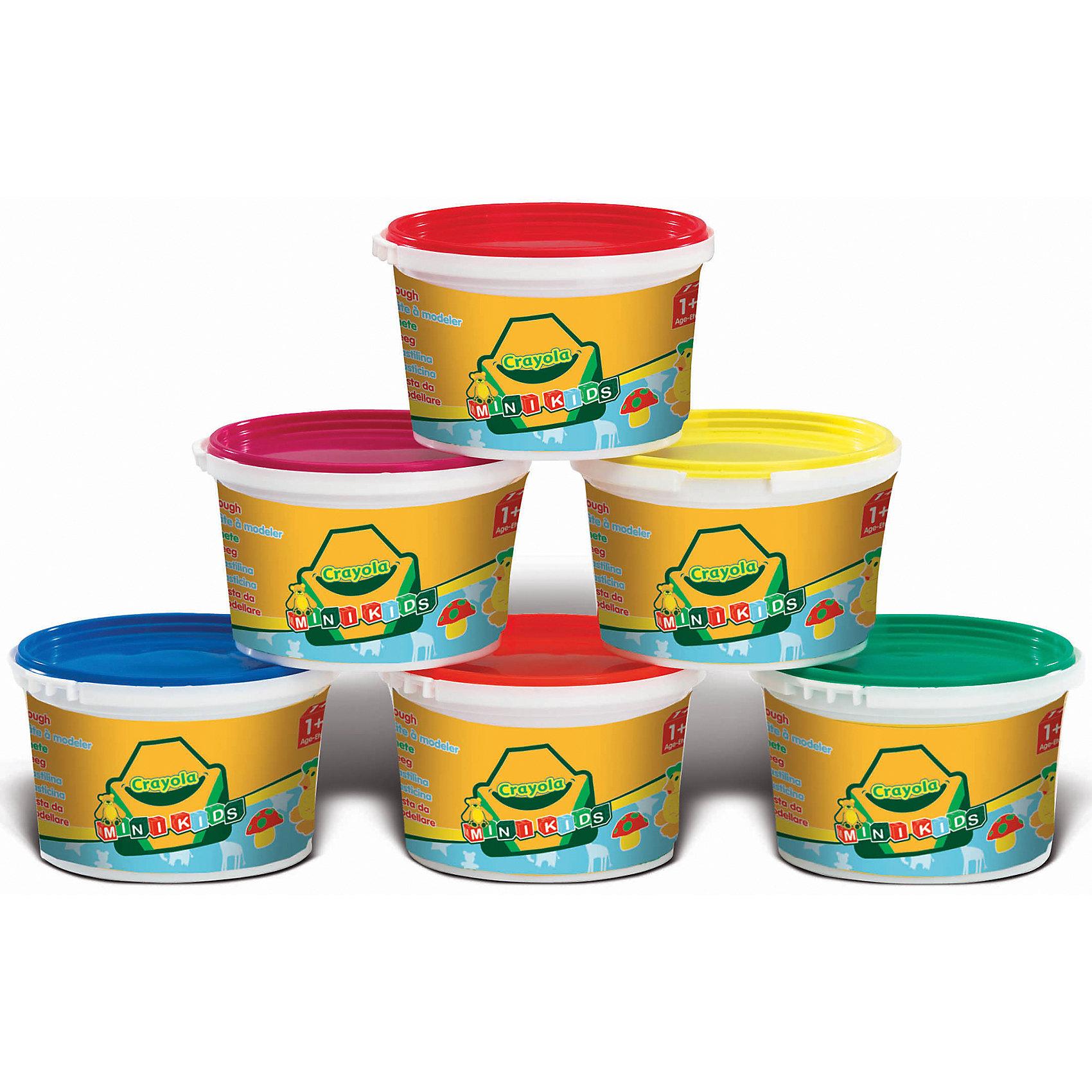 Crayola Масса для лепки в стакане Смешивай цвета, в ассортименте, Crayola всё для лепки lori пластилин классика 16 цветов