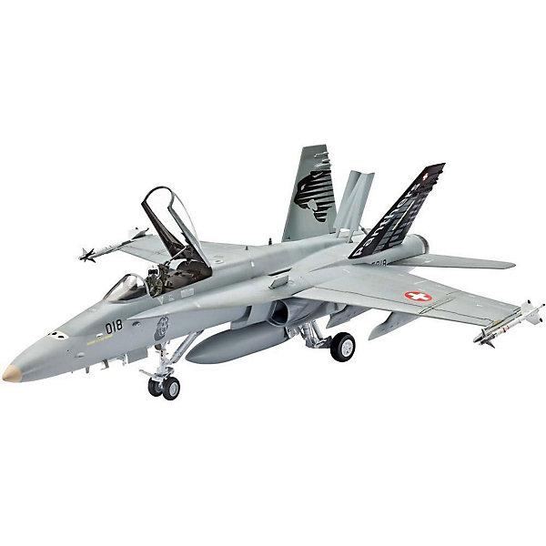 Самолет F/A-18D Hornet Wild WeaselСамолеты и вертолеты<br>Характеристики товара:<br><br>• возраст: от 10 лет;<br>• масштаб: 1:72;<br>• количество деталей: 52 шт;<br>• материал: пластик; <br>• клей и краски в комплект не входят;<br>• длина модели: 11,7 см;<br>• размах крыльев: 8,6 см;<br>• бренд, страна бренда: Revell (Ревел), Германия;<br>• страна-изготовитель: Польша.<br><br>Модель для сборки «Самолет F/A-18D Hornet Wild Weasel» поможет вам и вашему ребенку придумать увлекательное занятие на долгое время и весело провести свой досуг. <br><br>В набор входят 52 пластиковых детали, которые помогут воссоздать точную копию одноименного истребителя, впервые выпущенного в США  в 1987 году. Детали можно собрать при помощи клея, согласно инструкции. Готовый истребитель украсит стол или книжную полку ребенка. Краски и клей в комплект не входят.<br><br>Процесс сборки развивает интеллектуальные и инструментальные способности, воображение и конструктивное мышление, а также прививает практические навыки работы со схемами и чертежами.<br> <br>Модель для сборки «Самолет F/A-18D Hornet Wild Weasel», 52 дет., Revell (Ревел) можно купить в нашем интернет-магазине.<br><br>Ширина мм: 207<br>Глубина мм: 132<br>Высота мм: 34<br>Вес г: 238<br>Возраст от месяцев: 144<br>Возраст до месяцев: 1188<br>Пол: Мужской<br>Возраст: Детский<br>SKU: 2149872