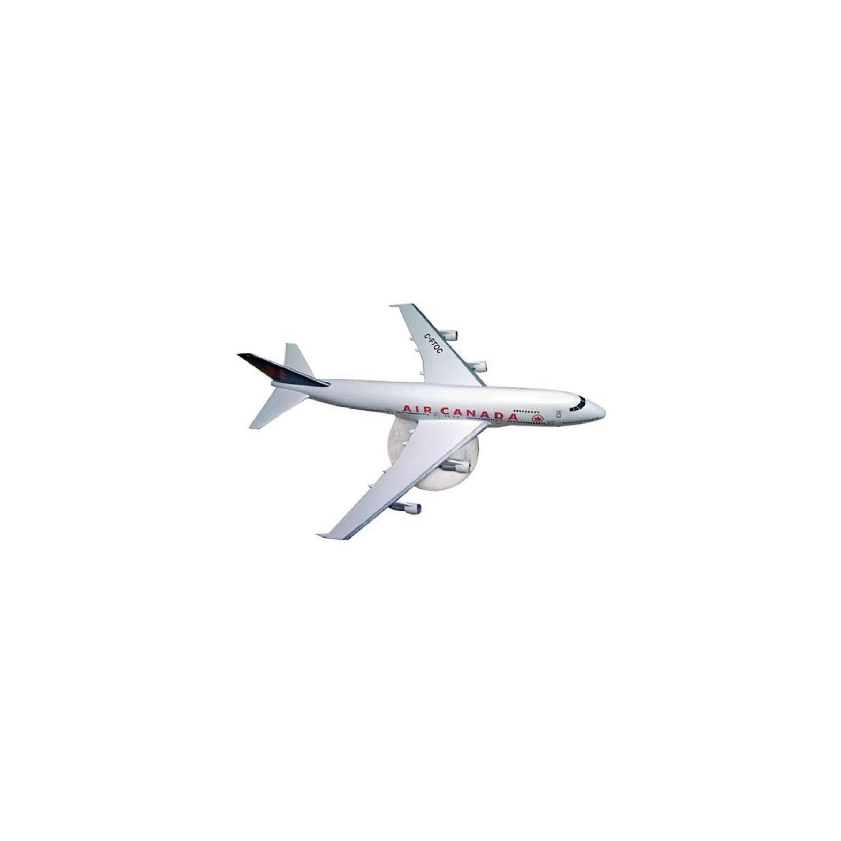 Набор Самолет Boeing 747, 1:390, (3)Модели для склеивания<br>Характеристики товара:<br><br>• возраст: от 10 лет;<br>• масштаб: 1:390;<br>• количество деталей: 60 шт;<br>• материал: пластик; <br>• клей и краски в комплект не входят;<br>• длина модели: 18,3 см;<br>• размах крыльев: 15,6 см;<br>• бренд, страна бренда: Revell (Ревел), Германия;<br>• страна-изготовитель: Польша.<br><br>Набор для сборки «Самолет Boeing 747» поможет вам и вашему ребенку придумать увлекательное занятие на долгое время и весело провести свой досуг. <br><br>Модель самолета, изготовленная в масштабе 1:390. Данная модель собирается из 60 пластиковых деталей и относится к третьему уровню сложности сборки из пяти существующих. В комплект набора также включены необходимые для осуществления сборки клей, кисточка и краски 3-ех цветов. В упаковку вложена подробная инструкция.<br><br>Процесс сборки развивает интеллектуальные и инструментальные способности, воображение и конструктивное мышление, а также прививает практические навыки работы со схемами и чертежами. <br><br>Набор для сборки «Самолет Boeing 747», 42 дет., Revell (Ревел) можно купить в нашем интернет-магазине.<br><br>Ширина мм: 270<br>Глубина мм: 230<br>Высота мм: 33<br>Вес г: 317<br>Возраст от месяцев: 144<br>Возраст до месяцев: 1188<br>Пол: Мужской<br>Возраст: Детский<br>SKU: 2149879