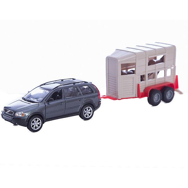 Welly Набор ЦиркМашинки<br>Welly Набор Цирк<br><br>Характеристики:<br><br>• Возраст: от 4 лет<br>• Размер упаковки: 0.350 х 0.080 х 0.140 м <br>• Вес : 0.500 кг<br>• В комплекте: автомобиль, фургон, две фигурки лошади<br>• Материал: металл, пластик<br><br>Игровой набор включает в себя уменьшенную копию модного автомобиля BMW X5, а также фургон с лошадьми. Этот веселый набор позволит ребенку не только поиграть в машинку, но и создать целую сказку о цирке. Все игрушки сделаны из качественного материала, который не только безопасен для ребенка, но еще и очень крепок. <br><br>Welly Набор Цирк можно купить в нашем интернет-магазине.<br>Ширина мм: 80; Глубина мм: 350; Высота мм: 135; Вес г: 522; Возраст от месяцев: 84; Возраст до месяцев: 1188; Пол: Мужской; Возраст: Детский; SKU: 2150002;