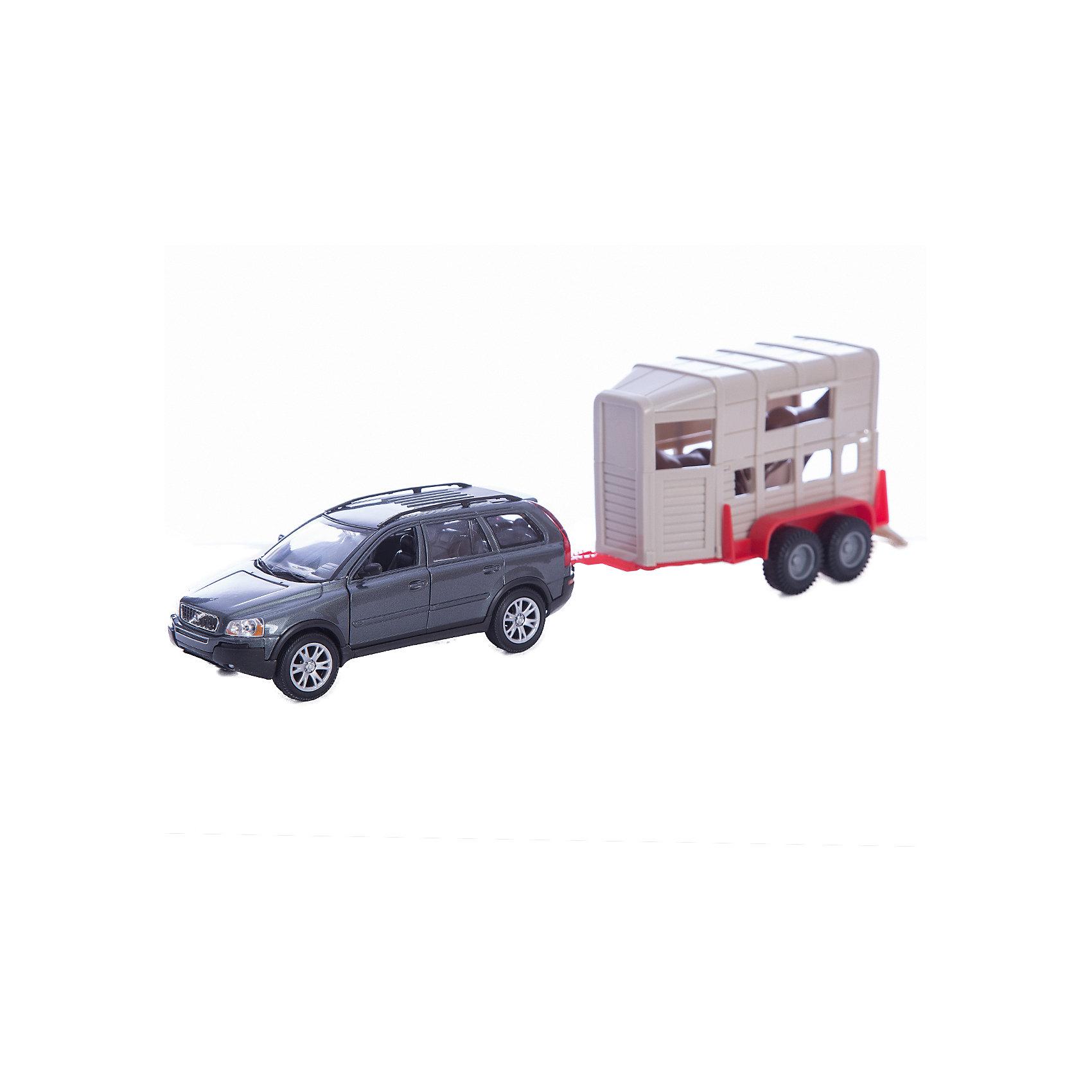 Welly Набор ЦиркИгровые наборы<br>Welly Набор Цирк<br><br>Характеристики:<br><br>• Возраст: от 4 лет<br>• Размер упаковки: 0.350 х 0.080 х 0.140 м <br>• Вес : 0.500 кг<br>• В комплекте: автомобиль, фургон, две фигурки лошади<br>• Материал: металл, пластик<br><br>Игровой набор включает в себя уменьшенную копию модного автомобиля BMW X5, а также фургон с лошадьми. Этот веселый набор позволит ребенку не только поиграть в машинку, но и создать целую сказку о цирке. Все игрушки сделаны из качественного материала, который не только безопасен для ребенка, но еще и очень крепок. <br><br>Welly Набор Цирк можно купить в нашем интернет-магазине.<br><br>Ширина мм: 80<br>Глубина мм: 350<br>Высота мм: 135<br>Вес г: 522<br>Возраст от месяцев: 84<br>Возраст до месяцев: 1188<br>Пол: Мужской<br>Возраст: Детский<br>SKU: 2150002