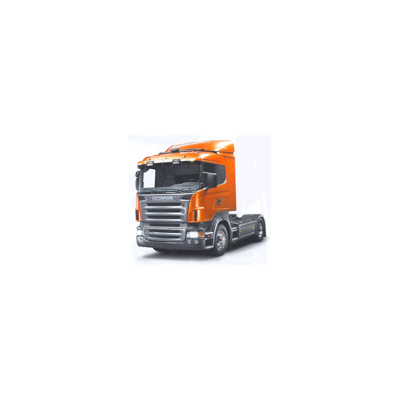 Welly Модель грузовика 1:32 Skahia R470Модель седельного тягача в масштабе 1:32.<br><br>У модели открываются дверки, есть инерционный механизм. Колёса вращаются. <br><br>Дополнительная информация:<br><br>Материал: металл с пластиковыми элементами. <br>Размер упаковки (д/ш/в): 24,5 х 12 х 15 см.<br><br>Модель станет отличным подарком для коллекционеров и начинающих автолюбителей.<br><br>Ширина мм: 245<br>Глубина мм: 120<br>Высота мм: 150<br>Вес г: 614<br>Возраст от месяцев: 84<br>Возраст до месяцев: 1188<br>Пол: Мужской<br>Возраст: Детский<br>SKU: 2150033