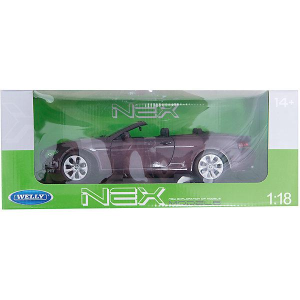 Модель машины 1:18 BMW 654CI, WellyМашинки<br>Модель машины 1:18 BMW 654CI, Welly<br><br>Характеристики:<br>- Материал: металл, пластик<br>- В комплект входит: 1 машинка<br>- Размер упаковки: 16 * 14 * 34 см.<br>Модель машины 1:18 BMW 654CI, от известного бренда Welly (Велли) станет отличным сюрпризом для любителей автомобилей. Полностью соответствуя своей большой копии, эта модель создана для самостоятельной сборки ребенком. Собрав  машинку, можно увидеть, что ее капот, багажник и двери открываются, а передние колеса можно поворачивать с помощью руля. Приятная детализация деталей кузова не оставляет равнодушных. Стильный дизайн этого кабриолета понравится ребенку и машинка станет отличным пополнением коллекции. Машинка предназначена для развития моторики рук, внимания и воображения.<br>Модель машины 1:18 BMW 654CI, Welly (Велли) можно купить в нашем интернет-магазине.<br>Подробнее:<br>• Для детей в возрасте: от 7 до 10 лет <br>• Номер товара: 2150045<br>Страна производитель: Китай<br><br>Ширина мм: 340<br>Глубина мм: 160<br>Высота мм: 140<br>Вес г: 1250<br>Возраст от месяцев: 84<br>Возраст до месяцев: 1188<br>Пол: Мужской<br>Возраст: Детский<br>SKU: 2150045