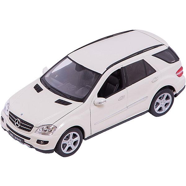 Welly Модель машины 1:18 Mercedes-Benz ML350Машинки<br>Модель автомобиля масштаба 1:18. У машинки открываются капот, багажник и двери. Поворотом руля можно повернуть колеса.<br><br>Дополнительная информация:<br><br>Размер машины: 27 см х 13 см х 9.5 см.<br>Материал: пластик, металл, резина.<br>Размер упаковки: 33 см х 16 см x 13,5 см. <br><br>Внимание! Данный товар представлен в ассортименте, к сожалению, выбрать заранее определенный цвет машины не представляется возможным.<br><br>Welly Модель машины 1:18 Mercedes-Benz ML350 можно купить в нашем магазине.<br><br>Ширина мм: 330<br>Глубина мм: 160<br>Высота мм: 135<br>Вес г: 1643<br>Возраст от месяцев: 84<br>Возраст до месяцев: 1188<br>Пол: Мужской<br>Возраст: Детский<br>SKU: 2150051