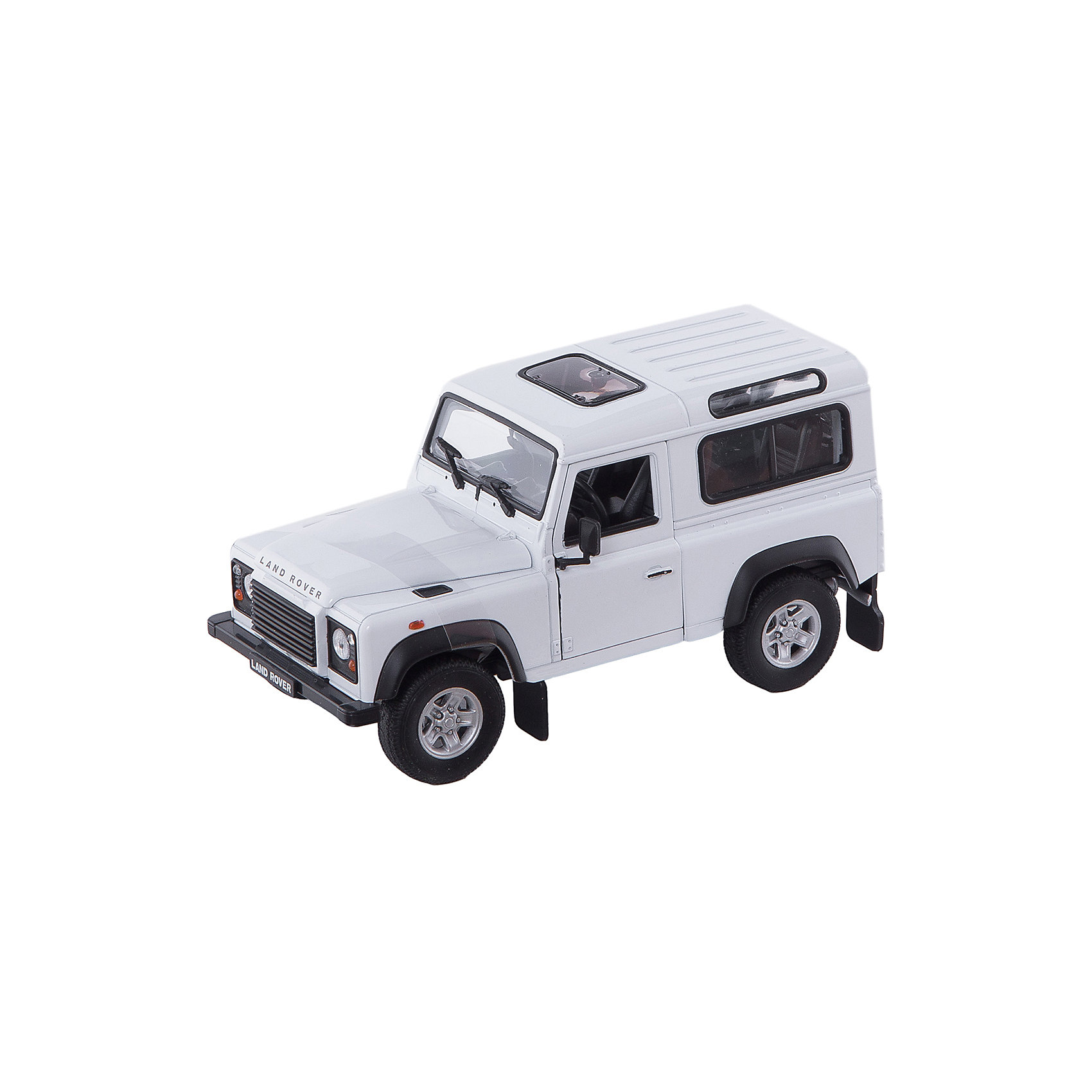Welly Welly Модель машины 1:24 Land Rover Defender электромобили dongma land rover defender