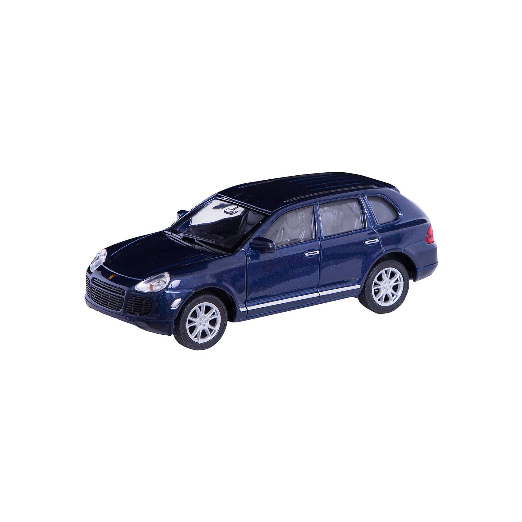 Welly Модель машины 1:31 Porscge Cayenne TurboКоллекционные модели<br>Каждая модель является точной копией серийно выпускаемой машины и производится только по лицензии авто производителя. Машины этой серии имеют инерционный механизм, а также открываются передние двери.<br><br>Дополнительная информация:<br><br>Размеры: 18 x 8 x 7 см.<br><br>ВНИМАНИЕ! Данный артикул имеется в наличии в разных цветах. Заранее выбрать определенный цвет нельзя. При заказе нескольких позиций возможно получение одинаковых.<br><br>Ширина мм: 180<br>Глубина мм: 80<br>Высота мм: 80<br>Вес г: 339<br>Возраст от месяцев: 84<br>Возраст до месяцев: 1188<br>Пол: Мужской<br>Возраст: Детский<br>SKU: 2150107