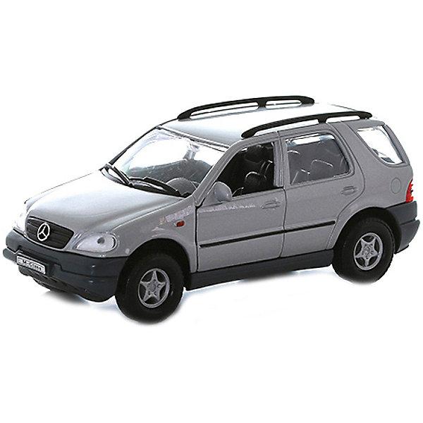 Welly Модель машины 1:31 Mercedes-Benz M-ClassМашинки<br>Коллекционная модель машины масштаба 1:31 Mercedes Benz M-class (Мерседес М-класс). <br><br>Функции: открываются передние двери, инерционный механизм. <br><br>Размеры: 18x8x7 см.<br>Ширина мм: 185; Глубина мм: 80; Высота мм: 85; Вес г: 295; Возраст от месяцев: 84; Возраст до месяцев: 1188; Пол: Мужской; Возраст: Детский; SKU: 2150108;