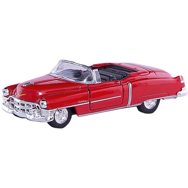 Welly Модель машины 1:34-39 1953 Cadillac EldoradeМашинки<br>Welly Модель машины 1:34-39 1953 Cadillac Eldorade<br><br>Характеристики:<br>- Материал: металл, пластик<br>- В комплект входит: 1 машинка<br>- Размер упаковки: 12 * 6 * 15 см.<br>- Вес: 150 гр.<br>Модель машины 1:34-39 1953 Cadillac Eldorade (Кадиллак Элдорэйд), от известного бренда Welly (Велли) станет отличным сюрпризом для любителей автомобилей. Серия Old Timer включает в себя ретро автомобили признанные классикой. Полностью соответствуя своей настоящей копии 50-х годов, эта модель привлекает внимание и создана как для игры, так и для коллекции. У модели открываются передние двери и капот. Имеет заводной механизм для движения. Кузов и внутренние детали этого кабриолета имеют качественную детализацию и не оставляют равнодушных. Машинка предназначена для развития моторики рук, внимания и воображения. Соберите свою коллекцию ретро автомобилей!<br>Модель машины 1:34-39 1953 Cadillac Eldorade, Welly (Велли) можно купить в нашем интернет-магазине.<br>Подробнее:<br>• Для детей в возрасте: от 3 до 10 лет <br>• Номер товара: 2150131<br>Страна производитель: Китай<br><br>Ширина мм: 145<br>Глубина мм: 60<br>Высота мм: 115<br>Вес г: 142<br>Возраст от месяцев: 84<br>Возраст до месяцев: 1188<br>Пол: Мужской<br>Возраст: Детский<br>SKU: 2150131