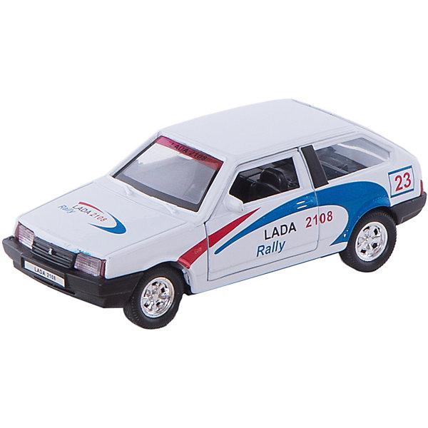 Welly Модель машины 1:34-39 LADA 2108 RallyМашинки<br>Характеристики модели машины 1:34-39 Lada:<br><br>- бренд: Welly<br>- возраст: от 3 лет<br>- пол: для мальчиков<br>- модель: Lada 2108 Rally.<br>- цвет: белый.<br>- масштаб: 1:34-39<br>- материал: металл, пластик.<br>- размер упаковки: 15 * 12 * 6 см.<br>- размер игрушки: 12 * 5 * 3.5 см.<br>- вес: 150 г.<br>- упаковка: коробка с дисплеем.<br><br>В разработке автомобиля Lada 2108 Rally участвовали специалисты разных компаний, в том числе и Porshe. Он предназначался для участия в различных гонках. Спортивный характер машинки отображен в дизайне коллекционной модели от торговой марки Welly — его миниатюрной копии. Корпус изготовлен из металла путем литья, колеса резиновые, интерьер тщательно  проработан. Машина прекрасно ездит по ровной поверхности! Потяните ее назад и отпустите — она со скоростью умчится, сверкая колесами!<br><br>Модель машины Lada торговой марки Welly можно купить в нашем интернет-магазине.<br><br>Ширина мм: 150<br>Глубина мм: 60<br>Высота мм: 120<br>Вес г: 163<br>Возраст от месяцев: 84<br>Возраст до месяцев: 1188<br>Пол: Мужской<br>Возраст: Детский<br>SKU: 2150175