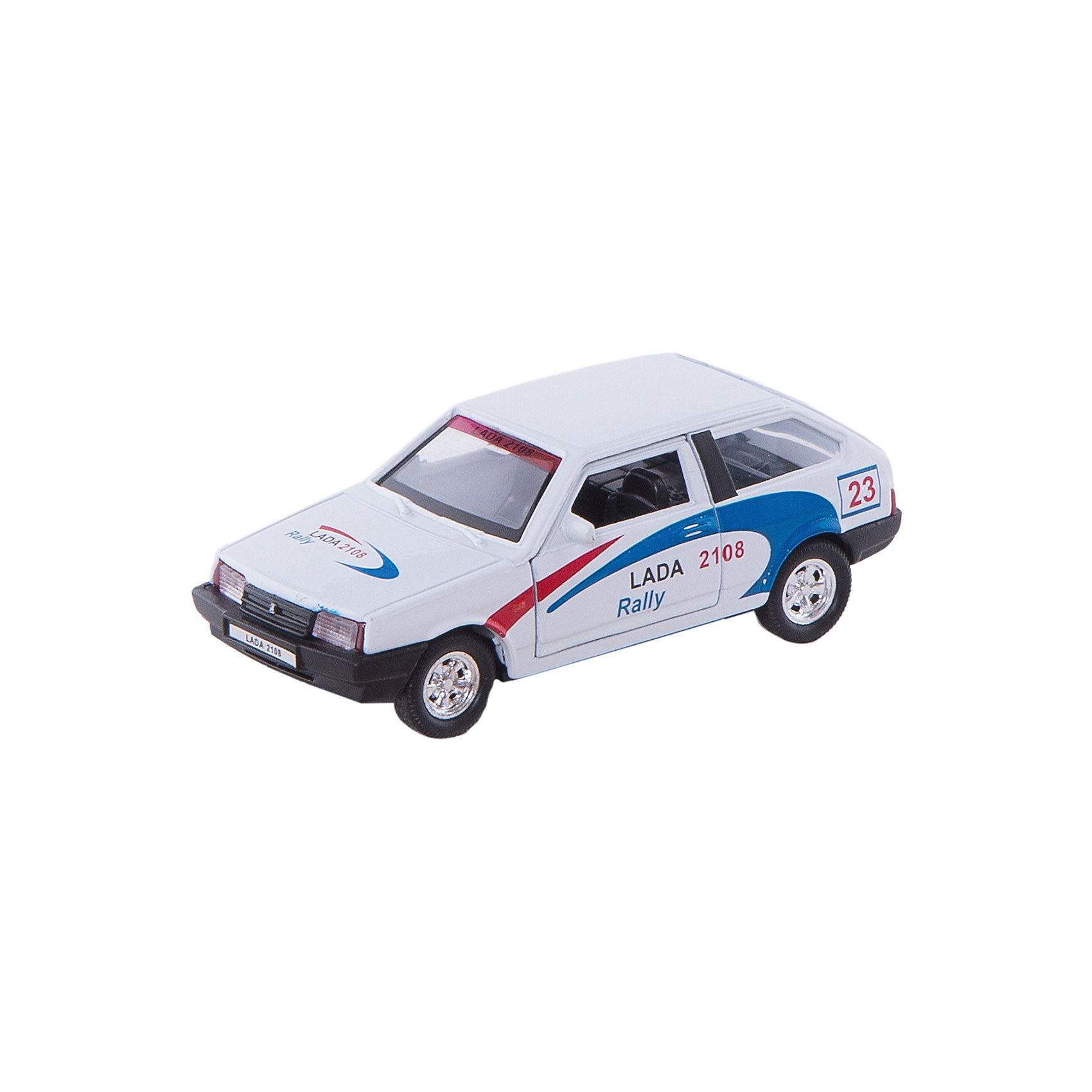 Welly Welly Модель машины 1:34-39 LADA 2108 Rally автомобиль welly nissan gtr 1 34 39 белый 43632