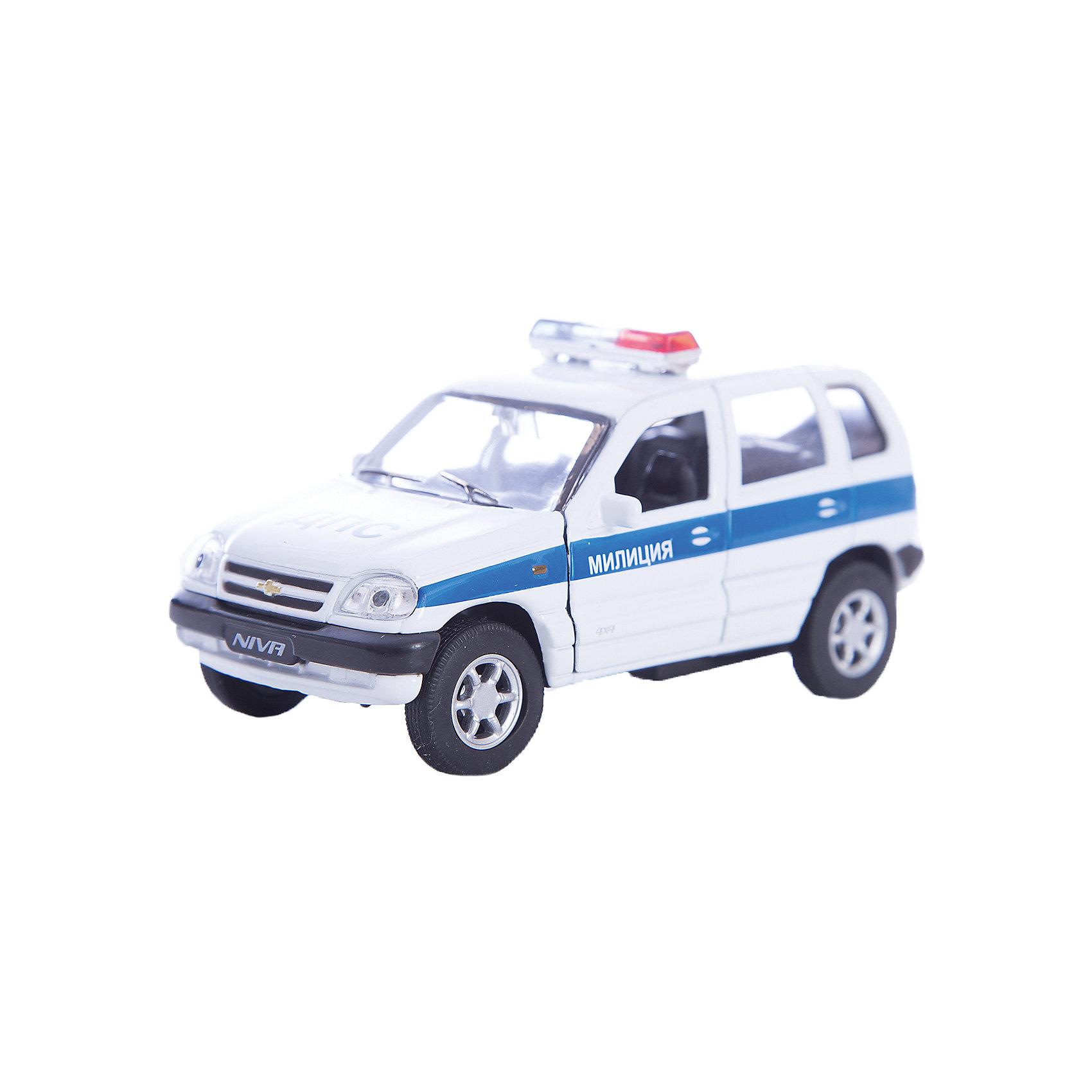 Welly Модель машины 1:34-39 Chevrolet Niva Милиция ДПС
