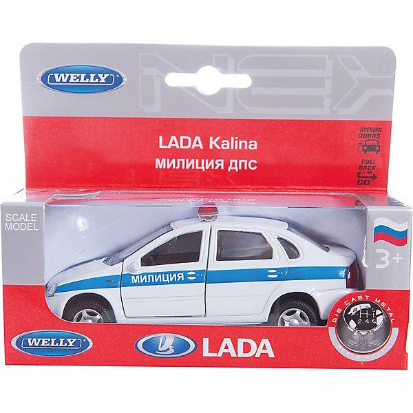 Welly Модель машины 1:34-39 LADA Kalina Милиция ДПСМашинки<br>Welly Модель машины 1:34-39 LADA Kalina Милиция ДПС<br><br>Характеристика:<br><br>-Размер : 17х7х11 см<br>-Вес: 0,2 кг<br>-Для мальчиков<br>-Возраст: от 4 лет<br>-Материал: пластик, металл, резина<br>-Цвет: белый <br>-Бренд: Welly<br>-Производитель: Китай<br><br>Welly Модель машины 1:34-39 LADA Kalina Милиция ДПС - это уменьшенная версия настоящей милицейской машины ДПС. С такой машиной игры станут не только интереснее,но и поучительнее. Играя с такой машиной, ребёнку наверняка станут интересны правила дорожного движения и устройство работы сотрудников ДПС. <br><br>Welly Модель машины 1:34-39 LADA Kalina Милиция ДПС можно приобрести в нашем интернет-магазине.<br>Ширина мм: 150; Глубина мм: 60; Высота мм: 120; Вес г: 185; Возраст от месяцев: 84; Возраст до месяцев: 1188; Пол: Мужской; Возраст: Детский; SKU: 2150192;