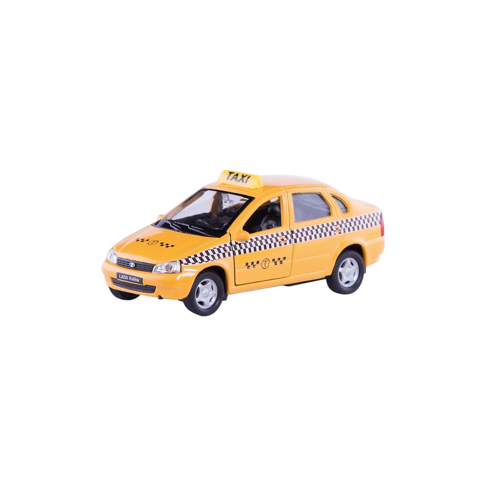 Welly Welly Модель машины 1:34-39 LADA Kalina Такси welly 42377ry велли модель машины 1 34 39 lada 2108 rally