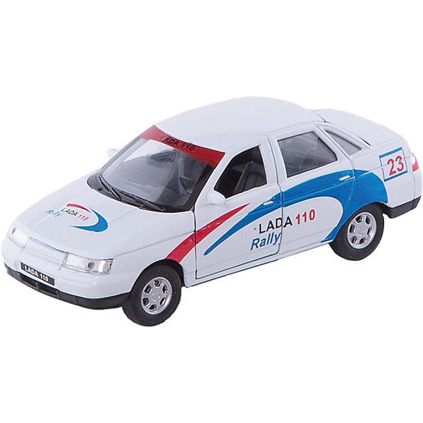Welly Модель машины 1:34-39 LADA 110 RallyМашинки<br>Модель автомобиля масштаба 1:34-39 инерционная. У машинки открываются двери.<br><br>Ширина мм: 150<br>Глубина мм: 60<br>Высота мм: 120<br>Вес г: 166<br>Возраст от месяцев: 84<br>Возраст до месяцев: 1188<br>Пол: Мужской<br>Возраст: Детский<br>SKU: 2150209