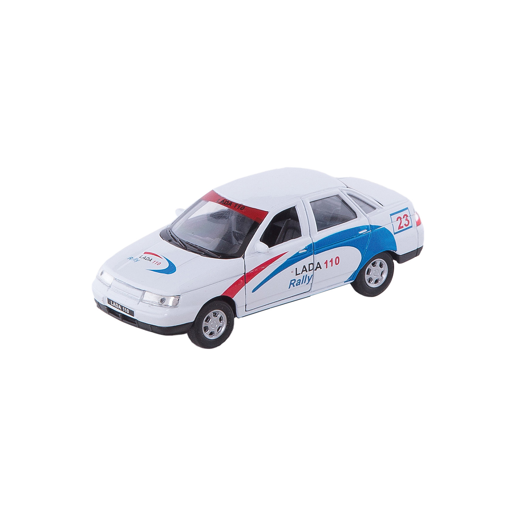Welly Welly Модель машины 1:34-39 LADA 110 Rally автомобиль welly nissan gtr 1 34 39 белый 43632