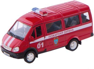 Welly Модель машины ГАЗель Пожарная охрана фото-1