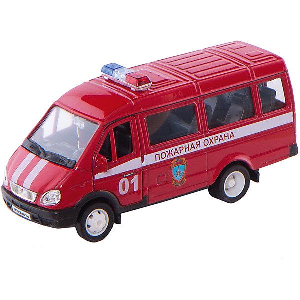 Welly Модель машины ГАЗель Пожарная охранаМашинки<br>Характеристики модели машины ГАЗель Пожарная охрана:<br><br>- возраст: от 3 лет<br>- пол: для мальчиков<br>- модель: ГАЗель<br>- цвет: красный. <br>- масштаб: 1:34.<br>- материал: металл, пластик.<br>- бренд: Welly<br><br>Коллекционная машинка Газель - Пожарная охрана - это отличный подарок для каждого юного любителя техники! Модель представляет собой точную копию легендарного российского микроавтобуса Газель, выполненную в масштабе 1:34 в цветах пожарной охраны. Машинка снабжена инерционным двигателем и может ездить вперед. Двери модели открываются. Машинка изготовлена из высококачественных материалов, безвредных для здоровья ребенка. Вашему мальчику непременно понравится играть с моделькой, каждый раз придумывая новые сюжеты и представляя себя пожарным, мчащимся на экстренный вызов.<br><br>Модель машины ГАЗель пожарная охрана торговой марки Welly можно купить в нашем интернет-магазине.<br>Ширина мм: 165; Глубина мм: 60; Высота мм: 140; Вес г: 247; Возраст от месяцев: 84; Возраст до месяцев: 1188; Пол: Мужской; Возраст: Детский; SKU: 2150220;