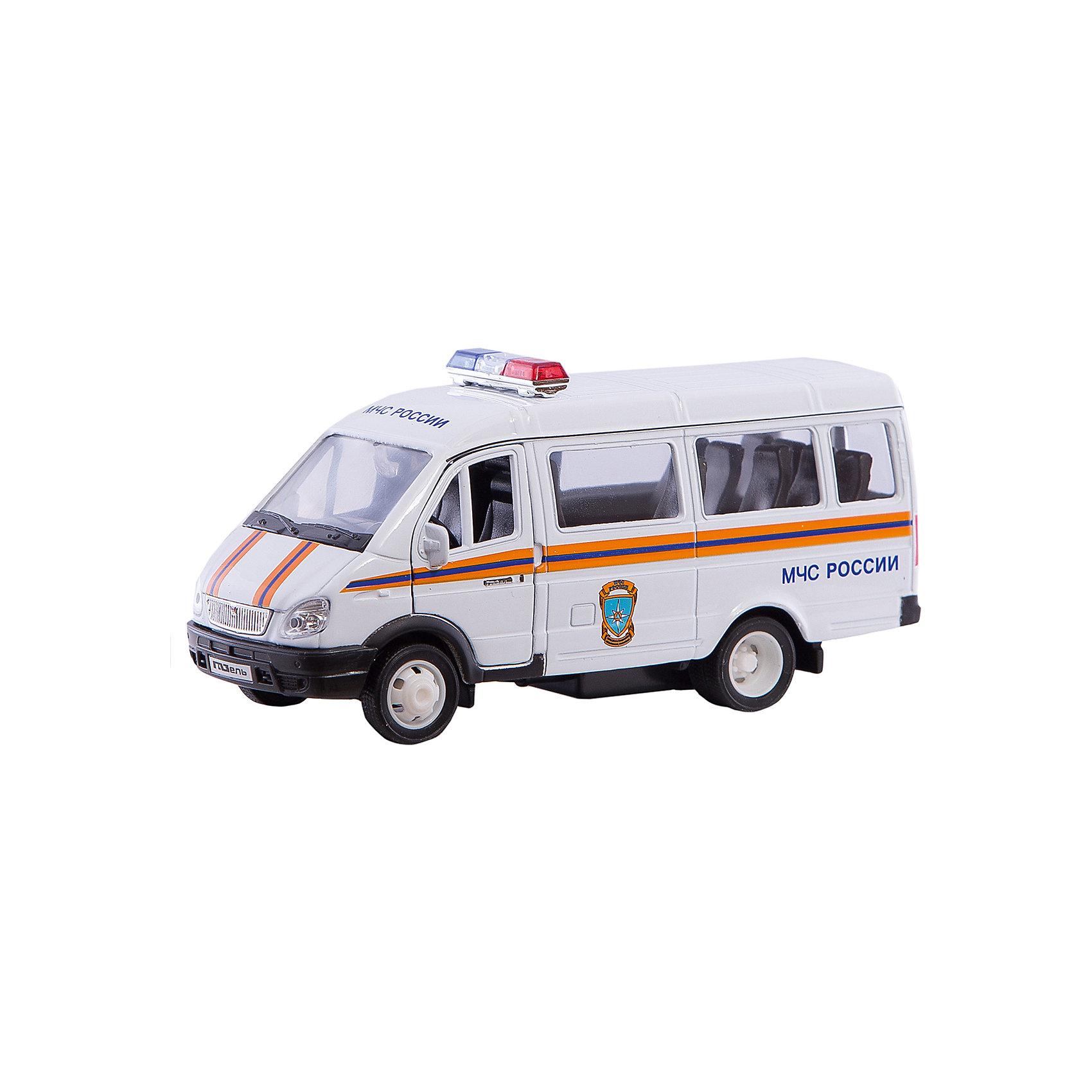 Welly Модель машины ГАЗель МЧСWelly Модель машины ГАЗель МЧС<br><br>Характеристика:<br><br>-Размер : 12х3,5 см<br>-Вес: 0,15 кг<br>-Для мальчиков<br>-Возраст: от 3 лет<br>-Материал: пластик, металл, резина<br>-Цвет: белый, синий, красный<br>-Бренд: Welly<br>-Производитель: Китай<br><br>Welly Модель машины ГАЗель МЧС - это уменьшенная версия настоящей машины МЧС. Машина выполнена очень реалистично, учитывая все тонкости настоящего, большого автомобиля. Она имеет систему открывания передних дверей и инерционный механизм. В процессе игры ребёнок будет развивать фантазию, воображение и моторику рук. Также ребёнок сможет узнать, как работают сотрудники МЧС и заинтересоваться этой профессией.<br><br>Welly Модель машины ГАЗель МЧС можно приобрести в нашем интернет-магазине.<br><br>Ширина мм: 165<br>Глубина мм: 60<br>Высота мм: 140<br>Вес г: 240<br>Возраст от месяцев: 84<br>Возраст до месяцев: 1188<br>Пол: Мужской<br>Возраст: Детский<br>SKU: 2150222