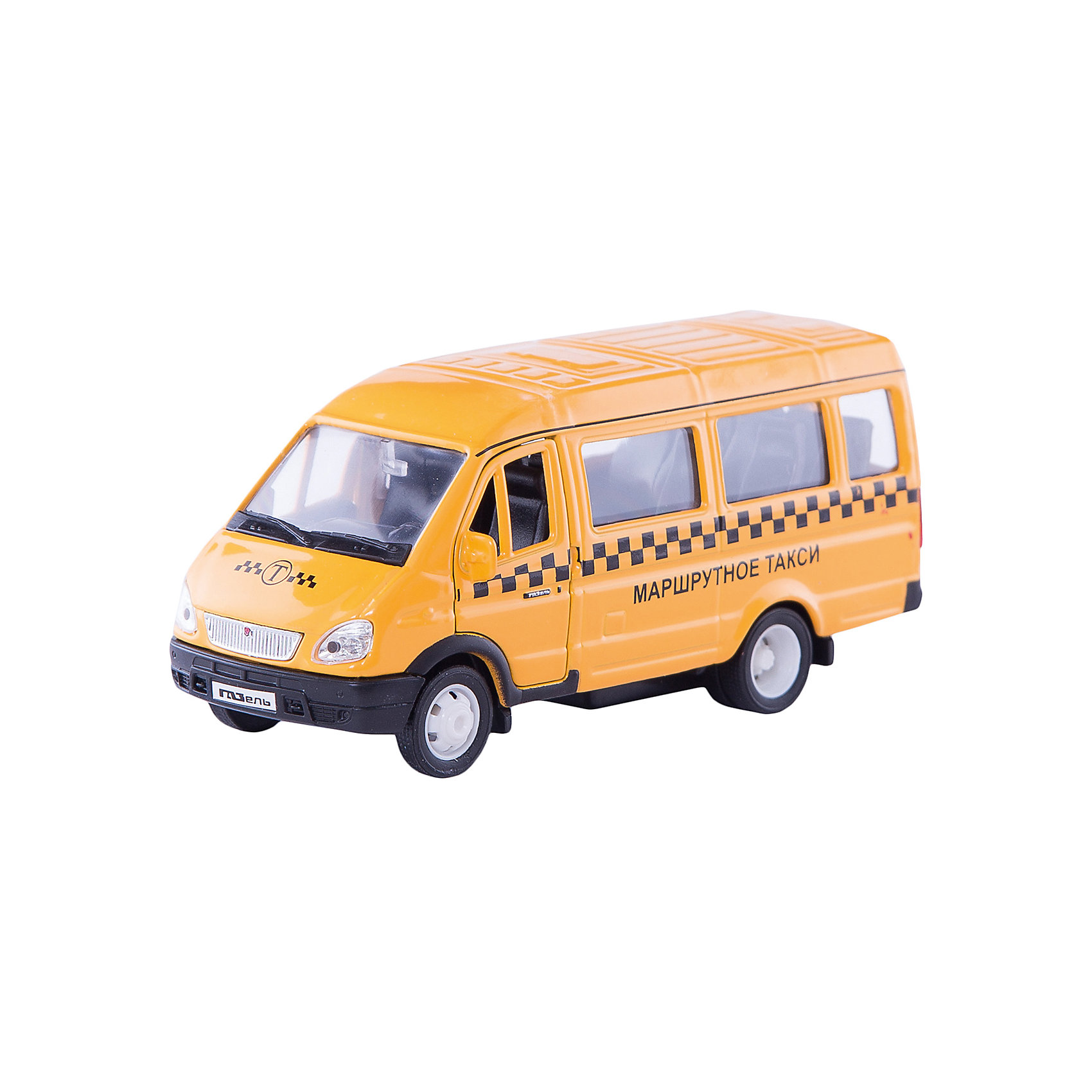 Welly Welly Модель машины ГАЗель Такси машинки welly игрушка модель машины автокран
