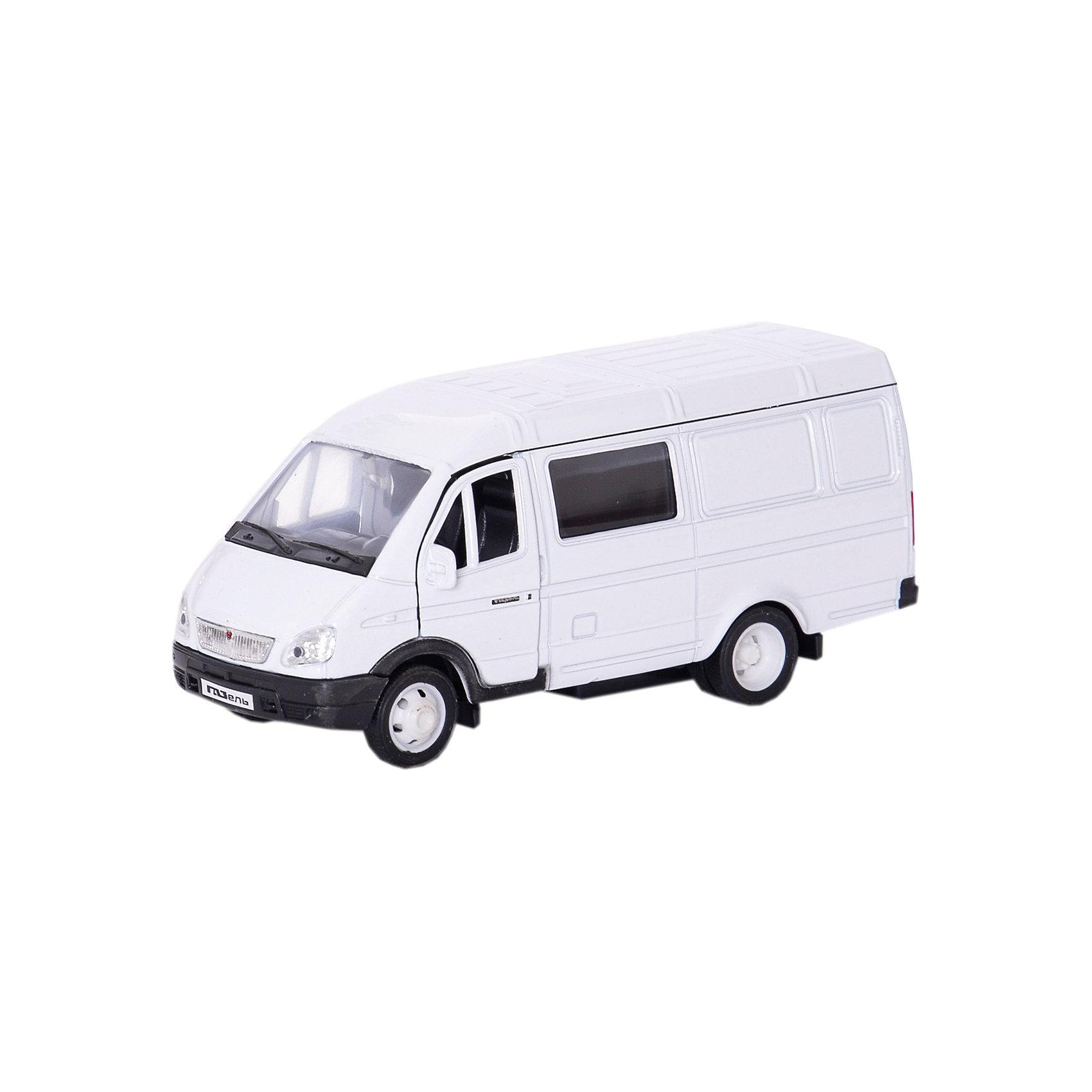 Welly Welly Модель машины ГАЗель фургон с окном машинки welly игрушка модель машины автокран