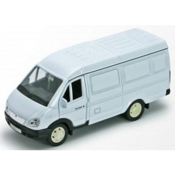 Welly Модель машины ГАЗель фургонМашинки<br>Характеристики модели машины ГАЗель фургон:<br><br>- бренд: Welly<br>- возраст: от 3 лет<br>- пол: для мальчиков<br>- модель: газель фургон.<br>- цвет: белый.<br>- масштаб: 1:34-39.<br>- материал: металл, пластик.<br>- размер упаковки: 19 * 6 * 16 см.<br>- вес: 200 гр.<br>- упаковка: картонная коробка блистерного типа.<br><br>С коллекционной машинкой от бренда Welly ребенок сможет устроить настоящие гонки! Однотонная грузовая машинка сделана из металла и безопасного пластика, у нее открываются передние двери. У ребенка будет возможность не только покатать машинку, но и рассмотреть устройство салона. Автомобиль имеет инерционный механизм: чтобы машина поехала, нужно потянуть ее на себя, а затем отпустить, после чего она наберет скорость.<br><br>Модель машины ГАЗель фургон торговой марки Welly можно купить в нашем интернет-магазине.<br>Ширина мм: 165; Глубина мм: 60; Высота мм: 140; Вес г: 247; Возраст от месяцев: 84; Возраст до месяцев: 1188; Пол: Мужской; Возраст: Детский; SKU: 2150226;