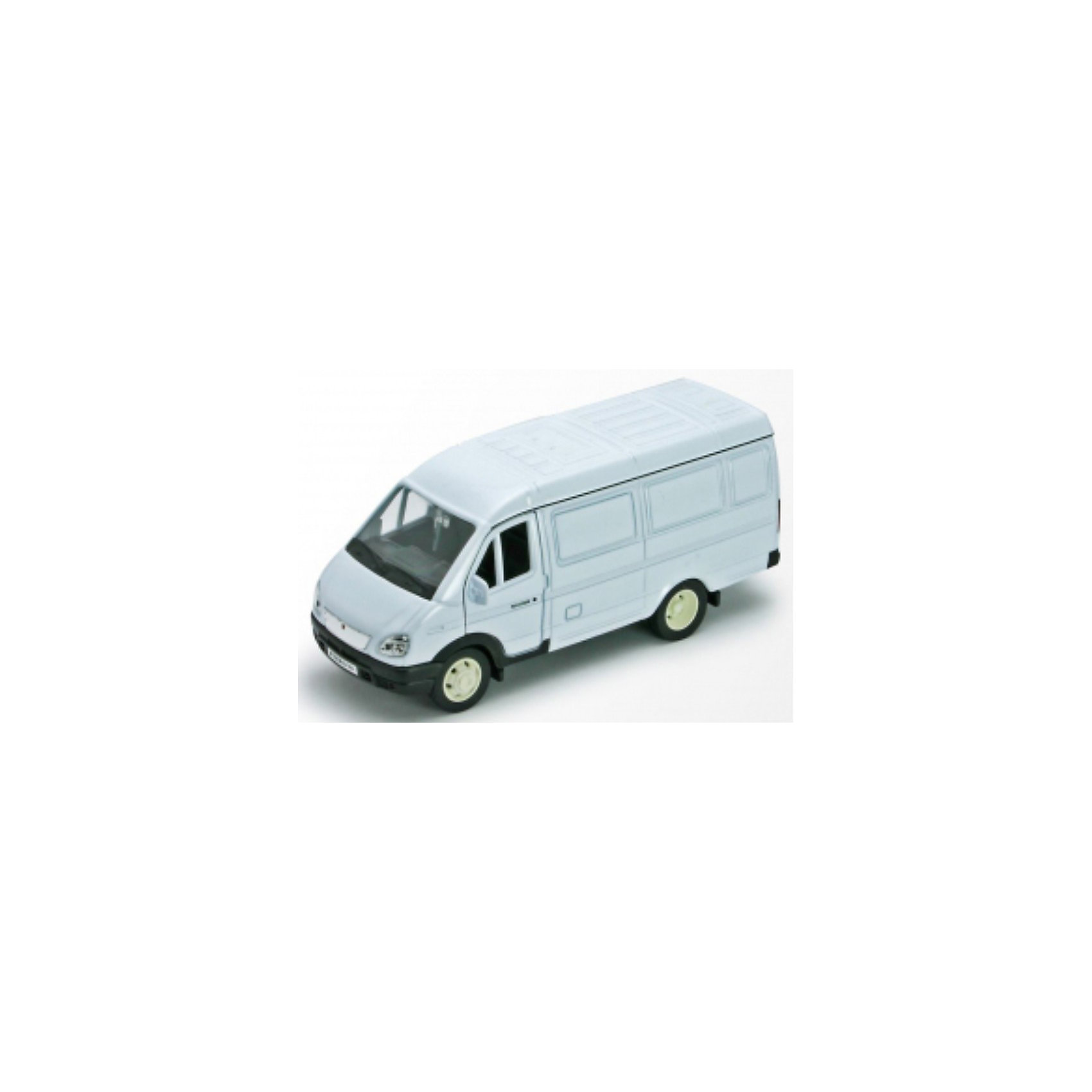 Welly Welly Модель машины ГАЗель фургон машинки welly игрушка модель машины автокран