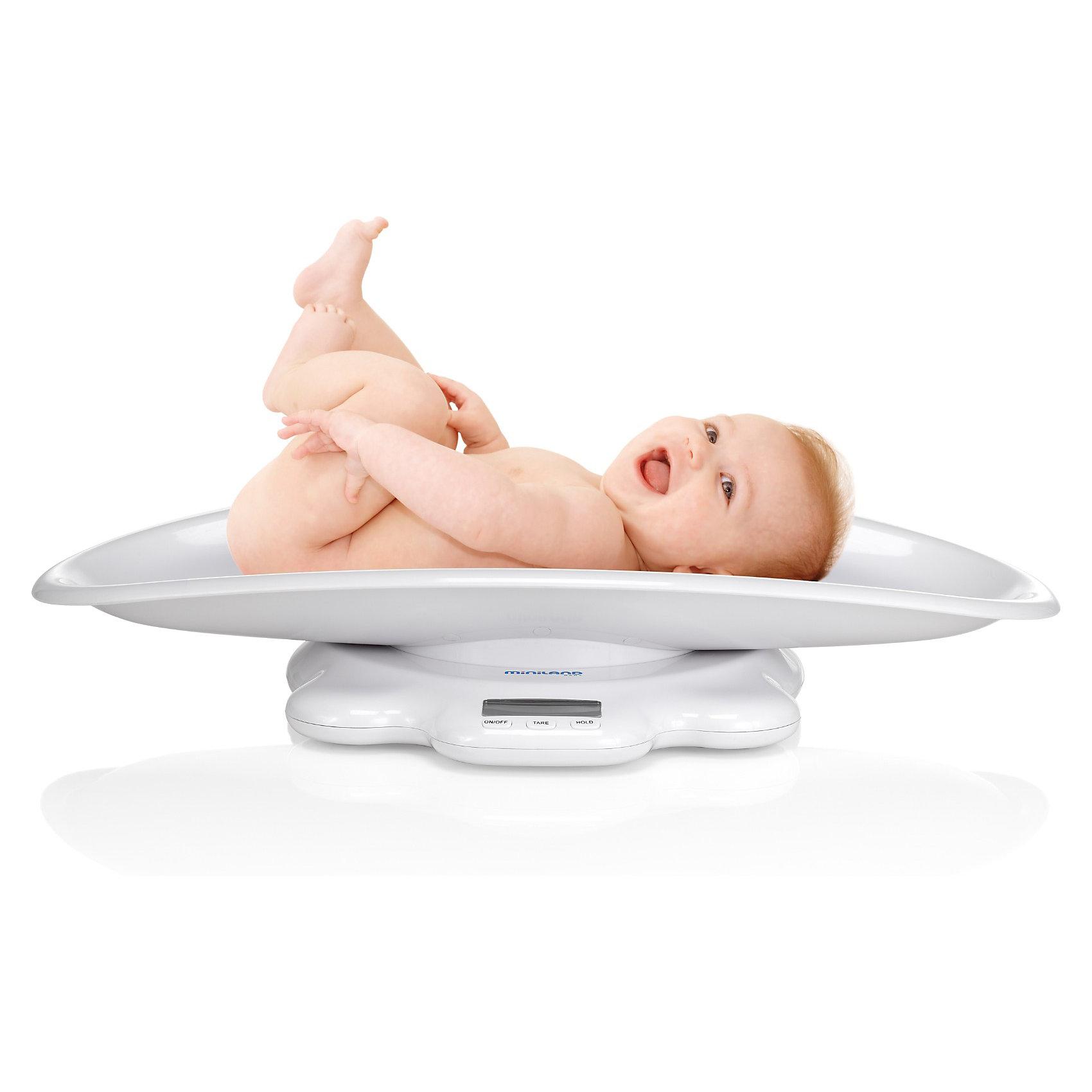 Весы детские со съемным лотком Scaly UP, MinilandДетская бытовая техника<br>Детские электронные весы Scaly Up предназначены для детей от рождения и до подросткового возраста. В возрасте до 1 года очень важно следить за весом младенца - ведь это основной показатель его здоровья. Благодаря съемному лотку вы сможете следить за весом вашего новорожденного ребенка, и продолжить использование детских весов без лотка, когда ваш малыш подрастет.<br><br>Основные характеристики детских электронных весов Scaly Up:<br><br>- В Miniland Scaly Up существует функция ТАРА, которая позволяет взвешивать дополнительные предметы.<br>- Весы помнят данные последнего измерения.<br>- Чтобы снять лоток, необходимо повернуть переключатель, находящийся под весами. <br>- Съемный лоток позволяет использовать весы с рождения малыша и до подросткового возраста<br>- Снабжены электронным дисплеем<br>- Осуществляют измерения в диапазоне от 0 до 50 кг<br>- Результат последнего взвешивания сохраняется в памяти<br><br>Габариты ( В х Ш х Г ), см: 65x39x13 см  <br>Вес изделия, кг: 2,725 кг  <br>Объём транспортной упаковки, м3: 0,0774<br><br>Ширина мм: 658<br>Глубина мм: 393<br>Высота мм: 138<br>Вес г: 2619<br>Возраст от месяцев: 0<br>Возраст до месяцев: 36<br>Пол: Унисекс<br>Возраст: Детский<br>SKU: 2153900