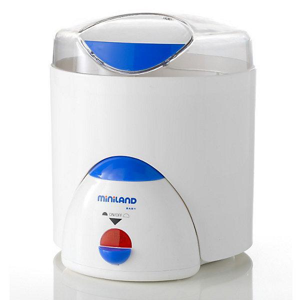Нагреватель/стерилизатор Super 3 Deco, MinilandCтерилизаторы<br>Основные характеристики:<br><br>- Функция подогрева бутылочек<br>- Можно стерилизовать от одной до шести бутылочек за один раз с сосками и принадлежностями<br>- Функция пароварки, удобная подставка для варки яиц<br>- Нагревательная поверхность изготовлена из нержавеющей стали<br>- Легок и прост в использовании и уходе<br>- Удобен при транспортировке и хранении<br>- Используются только экологически чистые материалы<br><br>Габариты ( В х Ш х Г ), см: 22,5x28x23 см  <br>Вес изделия, кг: 1,81 кг<br><br>Ширина мм: 282<br>Глубина мм: 230<br>Высота мм: 234<br>Вес г: 1745<br>Цвет: mehrfarbig<br>Возраст от месяцев: 0<br>Возраст до месяцев: 36<br>Пол: Унисекс<br>Возраст: Детский<br>SKU: 2153901