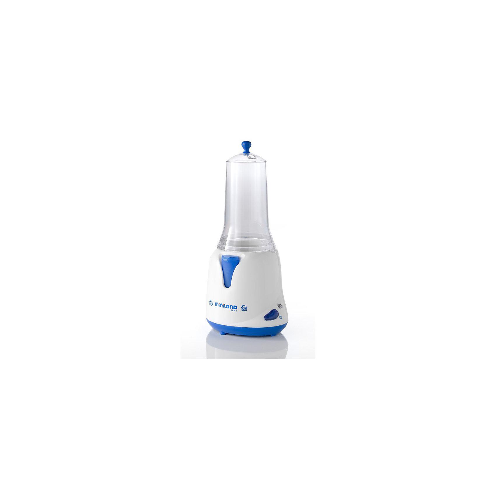 Нагреватель/стерилизатор Warmy plus, MinilandОсновные характеристики:<br><br>- 2-в-1 подогреватель, стерилизатор<br>- Можно использовать, как дома, так и в автомобиле<br>- Удобные держатели для подогрева различных емкостей<br>- Легок и прост в использовании и уходе<br>- Незаменим в путешествиях с ребенком<br>- Используются только экологически чистые материалы<br><br>Габариты ( В х Ш х Г ), см: 14x18,5x31,4 см  <br>Вес изделия, кг: 1,065 кг<br><br>Ширина мм: 314<br>Глубина мм: 185<br>Высота мм: 140<br>Вес г: 1065<br>Возраст от месяцев: 0<br>Возраст до месяцев: 36<br>Пол: Унисекс<br>Возраст: Детский<br>SKU: 2153904