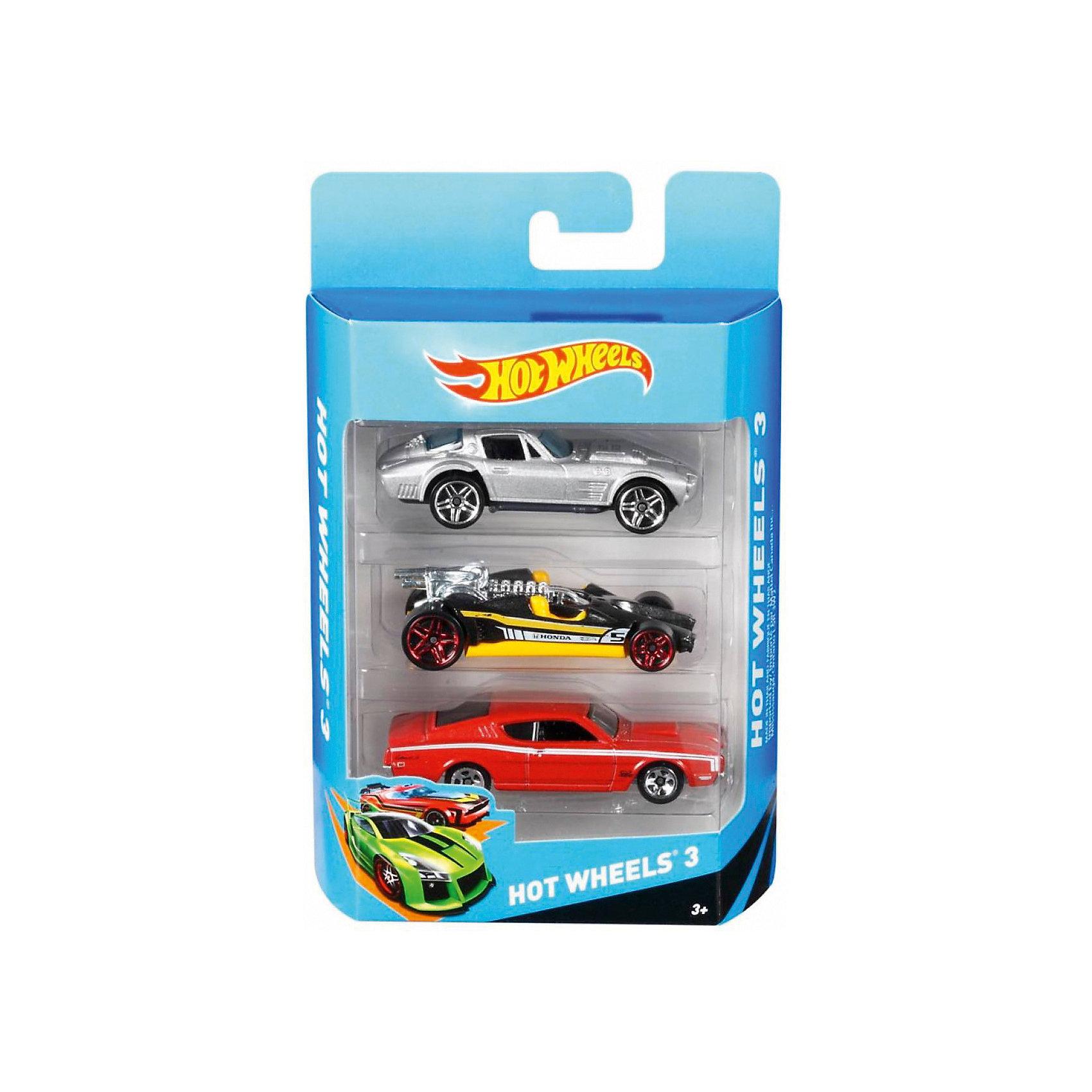 Hot Wheels ���������� ����� �� 3 ������� (Mattel)