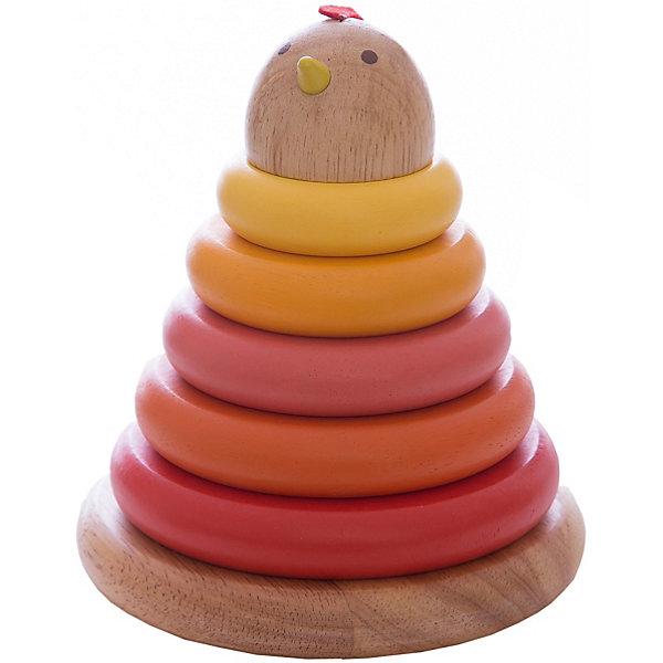 DJECO Пирамидка КурочкаПирамидки<br>Классическая пирамидка с оригинальным дизайном привлечет внимание Вашего малыша. В пирамидке 5 ярких разноцветных колец, спектр цветов от ярко-красного до желтого, наконечник пирамидки в виде головы курочки. В пирамидке есть сюрприз - маленькое белое яичко, которое устанавливается внутри пирамидки на основание стержня.<br><br><br>Дополнительная информация:<br><br>- Материал: дерево<br>- Размер игрушки: 13 х 13 х 15 см.<br>- Размер упаковки: 15,5 х 13 х 13 см.<br>- Вес: 250 г.<br><br>Игра с пирамидкой развивает у ребенка мелкую моторику, логическое мышление и цветовосприятие.<br><br>Пирамидку DJECO (Джеко) можно купить в нашем магазине.<br><br>Ширина мм: 130<br>Глубина мм: 130<br>Высота мм: 150<br>Вес г: 250<br>Возраст от месяцев: 12<br>Возраст до месяцев: 24<br>Пол: Унисекс<br>Возраст: Детский<br>SKU: 2175113