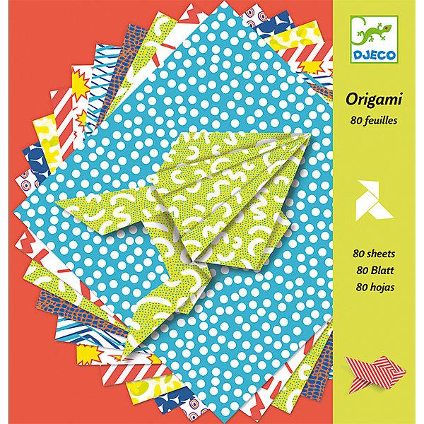 DJECO Оригами БумажныеБумага<br>Оригами DJECO (Джеко) представляют собой набор из 100 различных разноцветных листов. <br><br>Этот набор показывает детям как сделать птиц, рыб и лягушек,  просто складывая бумагу. <br><br>Дополнительная информация:<br><br>- набор содержит 100 печатных листов с различным дизайном и пошаговые инструкции по созданию фигурок<br>- все это хранится в прочной коробке, что делает хранение безопасным и аккуратным<br>- размер коробки 21,5 х 21,5 х 2,5 см<br><br>Оригами является не только приятным времяпровождением, но и помогает координации движений, развитию мелкой моторики, а также способность ребенка распознавать формы.<br><br>Ширина мм: 210<br>Глубина мм: 230<br>Высота мм: 2<br>Вес г: 50<br>Возраст от месяцев: 84<br>Возраст до месяцев: 180<br>Пол: Унисекс<br>Возраст: Детский<br>SKU: 2175148