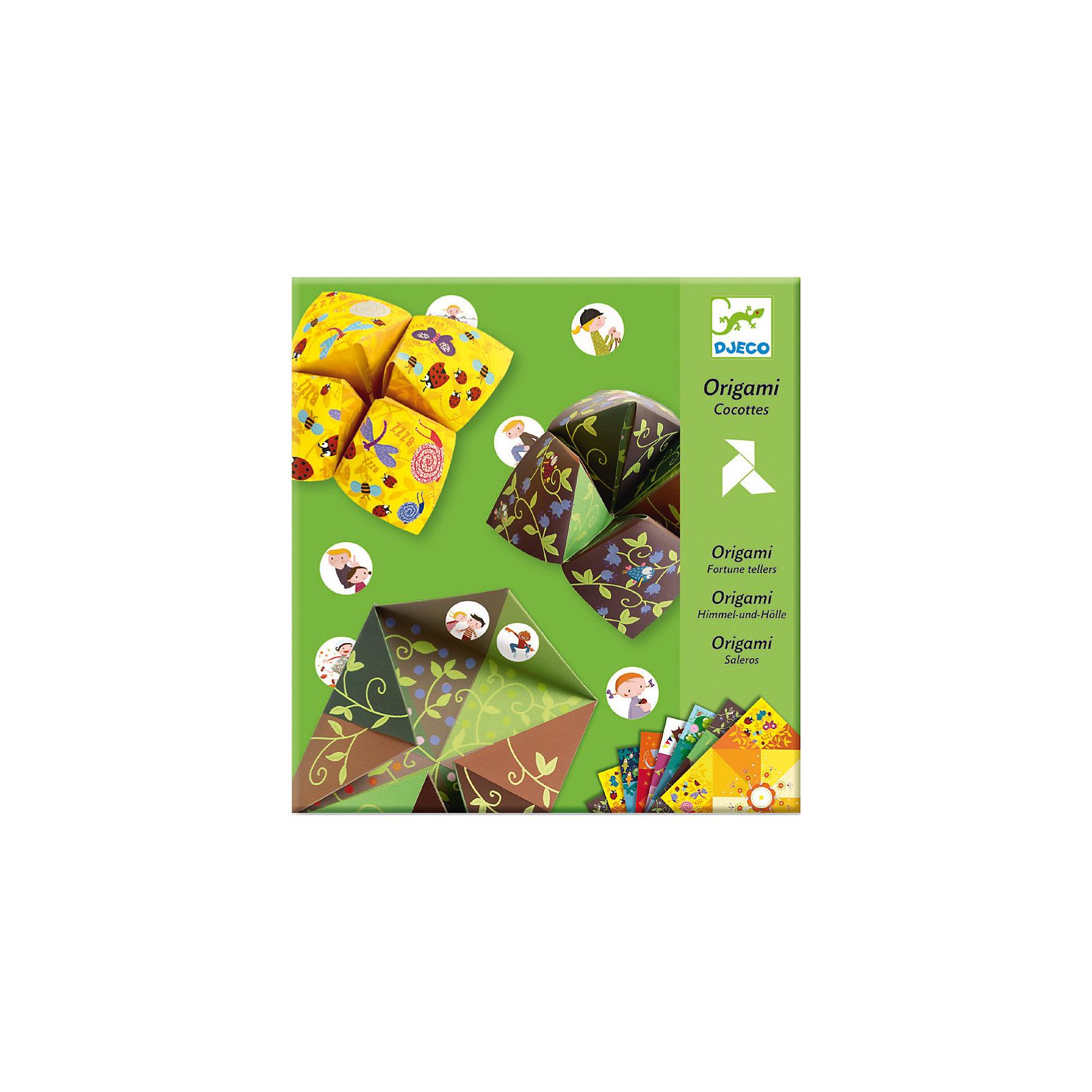 DJECO Набор Оригами БумажныйНабор Бумажный DJECO (Джеко) познакомит Вашего ребенка с древним искусством оригами. Искусство оригами позволяет создавать маленькие шедевры из обычных листков бумаги, можно сложить разнообразных зверюшек, фигурки, цветы и много другое. В наборе DJECO (Джеко) 24 листа с ярким орнаментом и узорами, из которых получается множество разнообразных поделок.<br><br>Дополнительная информация:<br><br>- В комплекте: 24 листа бумаги, 3 листа наклеек, инструкция со схемами.<br>- Материал: бумага.<br>- Размер каждого листа: 21 х 21 см.<br>- Размер упаковки: 0,5 х 23 х 22 см.<br>- Вес: 0,182 кг. <br><br>Набор поможет развить у ребенка усидчивость, мелкую моторику и творческое мышление.<br><br>Набор Бумажный DJECO (Джеко) можно купить в нашем магазине.<br><br>Ширина мм: 210<br>Глубина мм: 230<br>Высота мм: 2<br>Вес г: 50<br>Возраст от месяцев: 48<br>Возраст до месяцев: 120<br>Пол: Унисекс<br>Возраст: Детский<br>SKU: 2175149