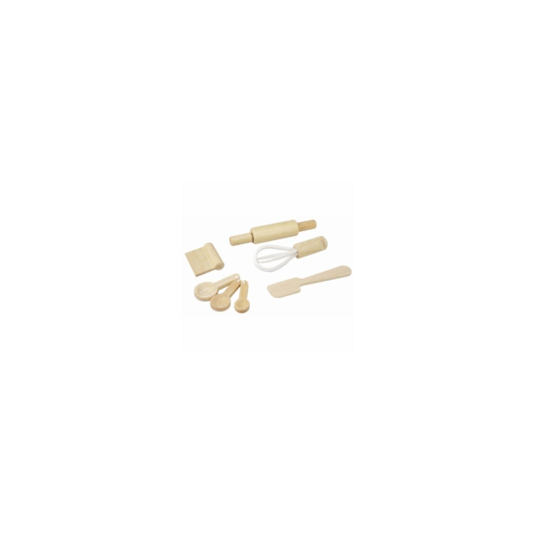 PLAN TOYS 3450 Набор кухонныйВсе игрушки выполнены из каучукового дерева с использованием нетоксичных красок и специально изготавливаются с закругленными краями, чтобы избежать вероятности травмирования.<br><br>Ширина мм: 57<br>Глубина мм: 125<br>Высота мм: 188<br>Вес г: 726<br>Возраст от месяцев: 36<br>Возраст до месяцев: 72<br>Пол: Женский<br>Возраст: Детский<br>SKU: 2175245