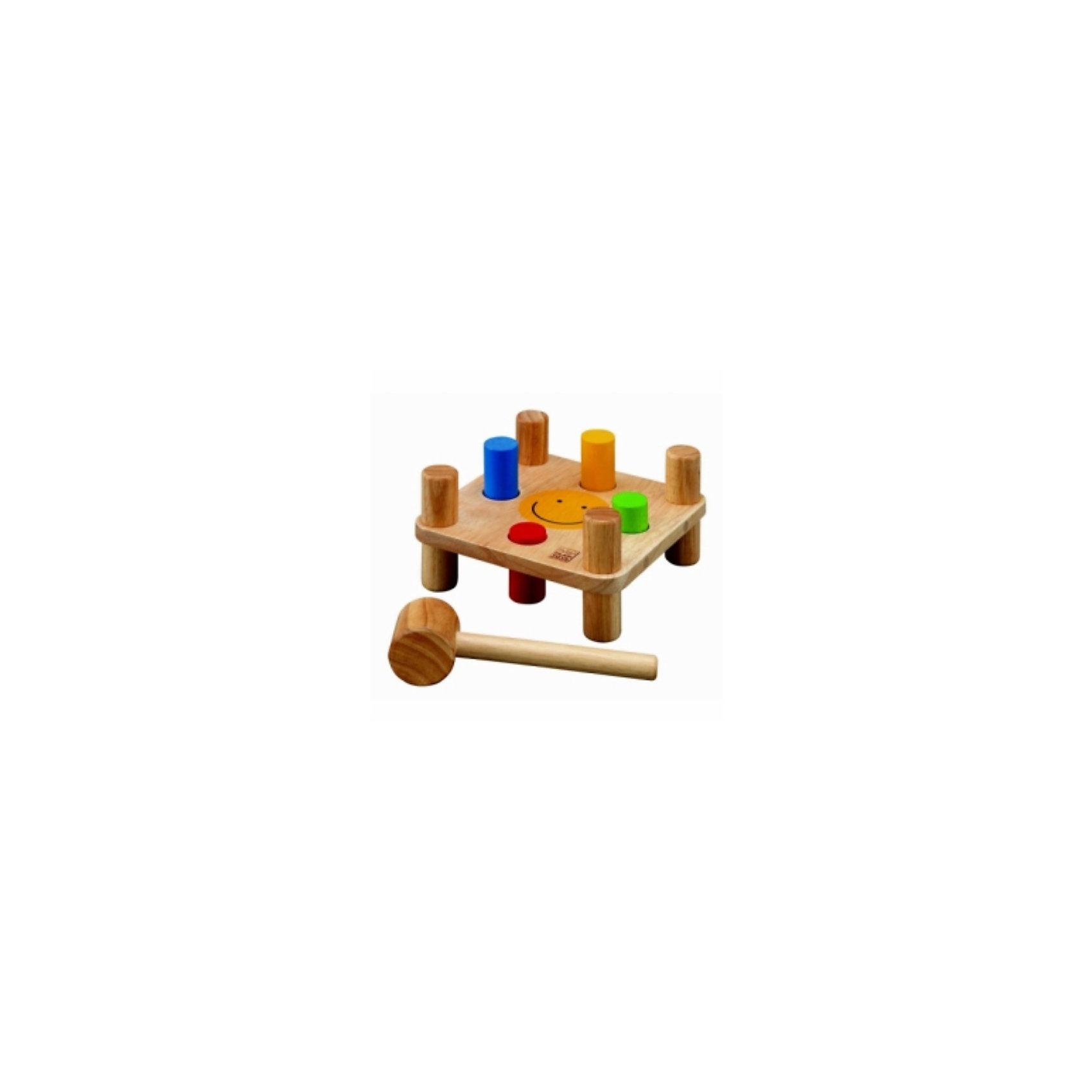 Plan Toys PLAN TOYS 5126 Забивалка ходунки plan toys ходилка птица