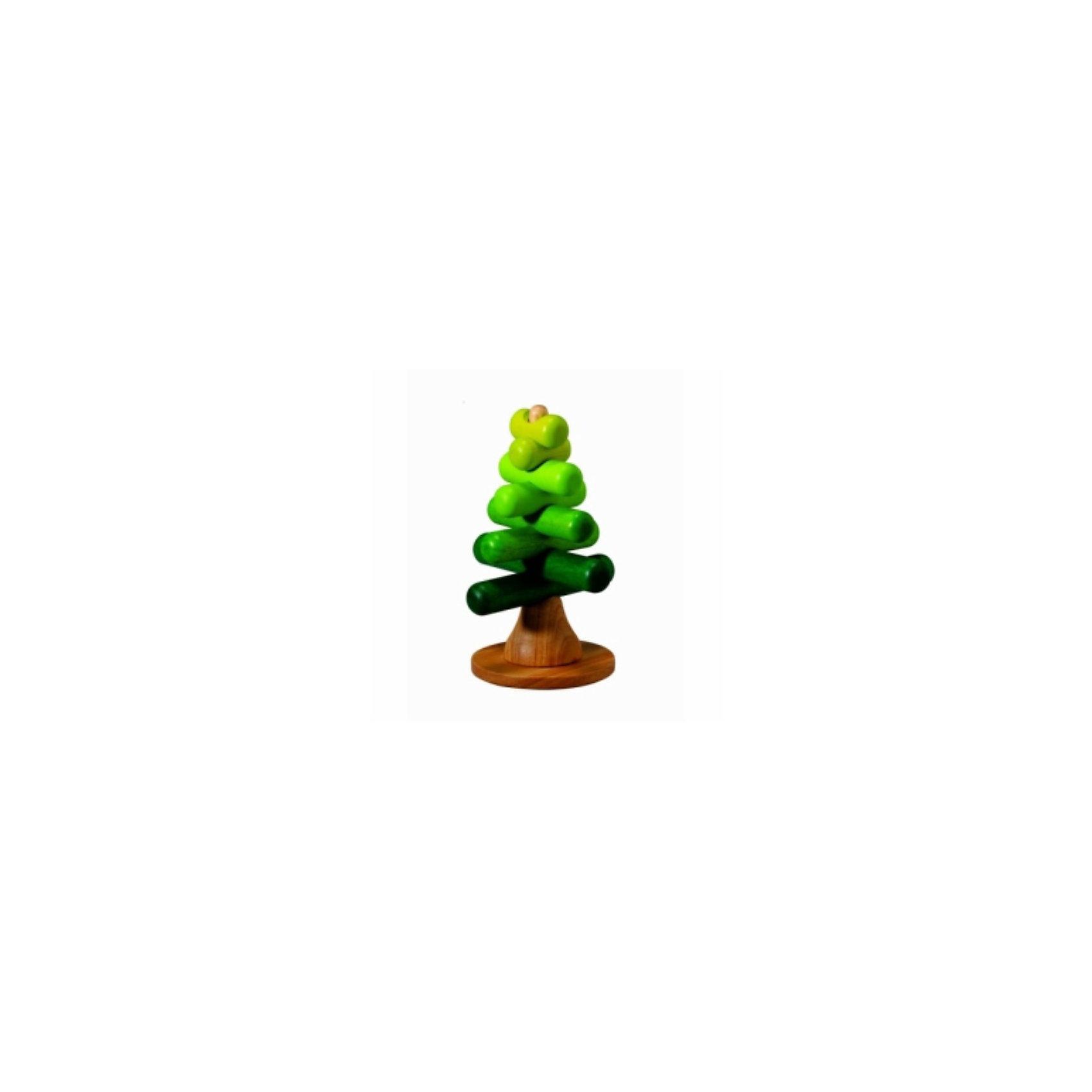 PLAN TOYS 5149 ДеревоДизайн набора-пирамиды PLAN TOYS Дерево основан на концепции природы. <br><br>Пирамидка состоит из деревянного стержня, на который нанизываются округлые палочки. Палочки располагаются под прямым углом по отношению друг к другу<br><br>Каждую палочку, выполненную в вариациях зеленого цвета, можно уложить так, чтобы сформировать различные виды деревьев. Игра поможет детям узнать об оттенках цвета и размерах.<br><br>Дополнительная информация:<br><br>- игрушка выполнена из каучукового дерева с использованием нетоксичных красок и специально изготовлена с закругленными краями, чтобы избежать вероятности травмирования<br>- размеры игрушки: 14 x 14 x 21,5 см<br>- размеры упаковки: 12,5 x 11,3 x 23 см <br><br>Дерево PLAN TOYS стимулирует развитие цветового восприятия, мелкую моторику рук и мышление ребенка.<br><br>Ширина мм: 113<br>Глубина мм: 230<br>Высота мм: 125<br>Вес г: 700<br>Возраст от месяцев: 24<br>Возраст до месяцев: 48<br>Пол: Унисекс<br>Возраст: Детский<br>SKU: 2175269