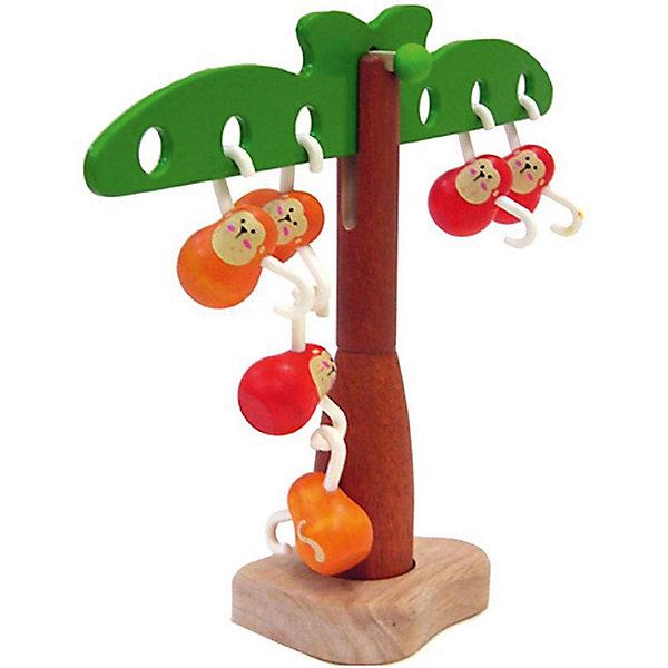 PLAN TOYS 5349 Игра Балансирующие обезьянкиНастольные игры для всей семьи<br>Характеристики игрушки:<br><br>• Предназначение: для развивающих и обучающих занятий<br>• Пол: универсальный<br>• Цвет: коричневый, красный, зеленый, оранжевый<br>• Материал: дерево<br>• Комплектация: дерево, 6 обезьянок<br>• Вес: 540 гр.<br>• Размеры (Д*Ш*В): 20*8*28 см<br><br>PLAN TOYS 5349 Игра Балансирующие обезьянки – эта увлекательная игра позволит в легкой форме объяснить ребенку законы равновесия и освоить первые математические действия на наглядном примере.  Комплект состоит из дерева с раскидистыми ветками по двум сторонам с отверстиями и 6-ти фигурок обезьянок, лапки у которых сделаны в форме крючка. Обезьянки крепятся как на ветви дерева, так и между собой. Игрушка выполнена из экологически безопасного материала – каучукового дерева, использованные краски нетоксичны, у элементов игрушки отсутствуют острые углы, что делает ее полностью безопасной.<br><br>PLAN TOYS 5349 Игра Балансирующие обезьянки позволит познакомить ребенка с увлекательным миром исследований в области физики и математики, а также научит проводить самостоятельно эксперименты. <br><br>PLAN TOYS 5349 Игру Балансирующие обезьянки можно купить в нашем интернет-магазине.<br><br>Подробнее:<br>Для детей в возрасте: от 2 до 4 лет<br>Номер товара: 2175281<br>Страна производитель: Тайланд<br><br>Ширина мм: 75<br>Глубина мм: 230<br>Высота мм: 188<br>Вес г: 540<br>Возраст от месяцев: 24<br>Возраст до месяцев: 48<br>Пол: Унисекс<br>Возраст: Детский<br>SKU: 2175281