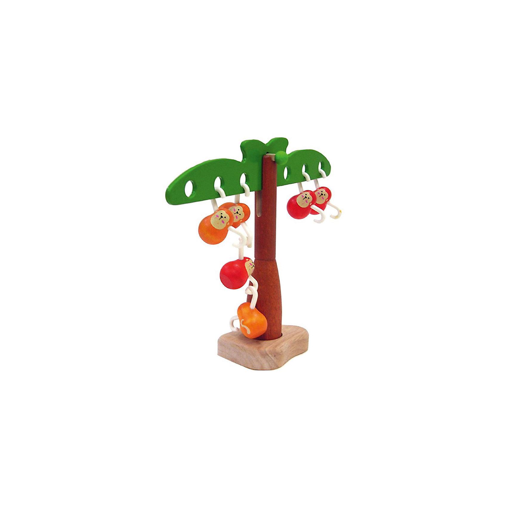 PLAN TOYS 5349 Игра Балансирующие обезьянкиХарактеристики игрушки:<br><br>• Предназначение: для развивающих и обучающих занятий<br>• Пол: универсальный<br>• Цвет: коричневый, красный, зеленый, оранжевый<br>• Материал: дерево<br>• Комплектация: дерево, 6 обезьянок<br>• Вес: 540 гр.<br>• Размеры (Д*Ш*В): 20*8*28 см<br><br>PLAN TOYS 5349 Игра Балансирующие обезьянки – эта увлекательная игра позволит в легкой форме объяснить ребенку законы равновесия и освоить первые математические действия на наглядном примере.  Комплект состоит из дерева с раскидистыми ветками по двум сторонам с отверстиями и 6-ти фигурок обезьянок, лапки у которых сделаны в форме крючка. Обезьянки крепятся как на ветви дерева, так и между собой. Игрушка выполнена из экологически безопасного материала – каучукового дерева, использованные краски нетоксичны, у элементов игрушки отсутствуют острые углы, что делает ее полностью безопасной.<br><br>PLAN TOYS 5349 Игра Балансирующие обезьянки позволит познакомить ребенка с увлекательным миром исследований в области физики и математики, а также научит проводить самостоятельно эксперименты. <br><br>PLAN TOYS 5349 Игру Балансирующие обезьянки можно купить в нашем интернет-магазине.<br><br>Подробнее:<br>Для детей в возрасте: от 2 до 4 лет<br>Номер товара: 2175281<br>Страна производитель: Тайланд<br><br>Ширина мм: 75<br>Глубина мм: 230<br>Высота мм: 188<br>Вес г: 540<br>Возраст от месяцев: 24<br>Возраст до месяцев: 48<br>Пол: Унисекс<br>Возраст: Детский<br>SKU: 2175281