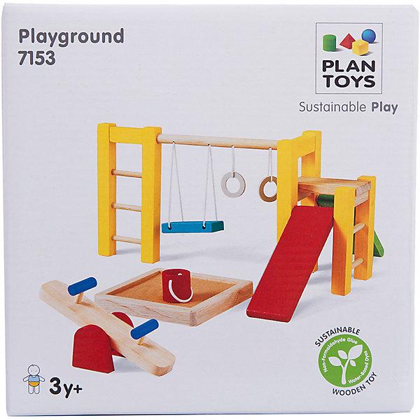 PLAN TOYS 7153 Спортивная площадкаАксессуары для кукол<br>PLAN TOYS 7153 Спортивная площадка, План Тойс<br><br>Характеристики:<br><br>• кукольная спортивная площадка для разнообразных игр<br>• нетоксичные краски<br>• в комплекте: горка, качели, песочница<br>• материал: каучуковое дерево<br>• размер игрушки: 29х23х14 см<br>• размер упаковки: 19х19х5 см<br><br>Для полноценной игры с игрушками ребенку может понадобиться спортивная площадка. В комплект от Plan Toys входят качели, горка и песочница. Малыш сможет придумать интересные сюжеты для игры, воплотив все свои фантазии. Игрушки изготовлены из дерева и окрашены безопасными красками. Края игрушек закруглены, что обеспечит ребенку безопасность во время игры. Яркие качественные игрушки - то, что нужно для хорошего настроения!<br><br>PLAN TOYS 7153 Спортивная площадка, План Тойс вы можете купить в нашем интернет-магазине.<br><br>Ширина мм: 46<br>Глубина мм: 188<br>Высота мм: 188<br>Вес г: 680<br>Возраст от месяцев: 36<br>Возраст до месяцев: 72<br>Пол: Женский<br>Возраст: Детский<br>SKU: 2175332