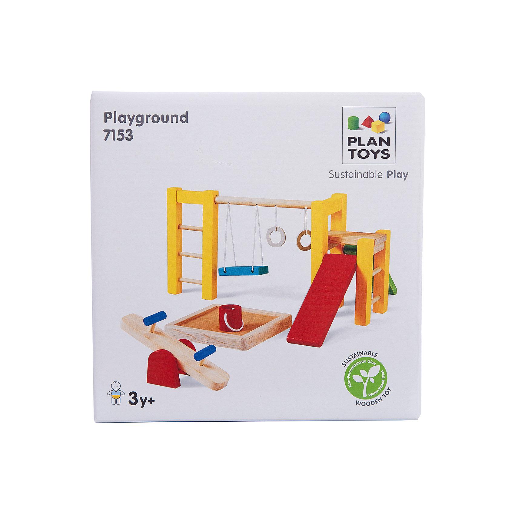 Plan Toys PLAN TOYS 7153 Спортивная площадка горки macyszynt toys лебедь большая с подключением воды